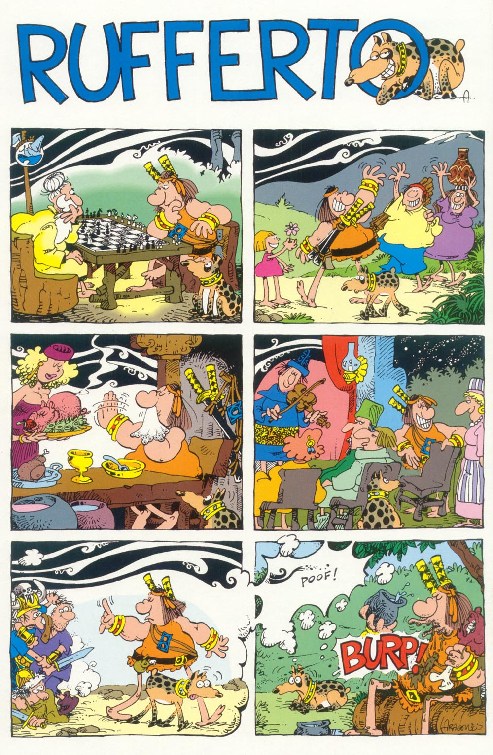 Read online Sergio Aragonés Groo the Wanderer comic -  Issue #98 - 33