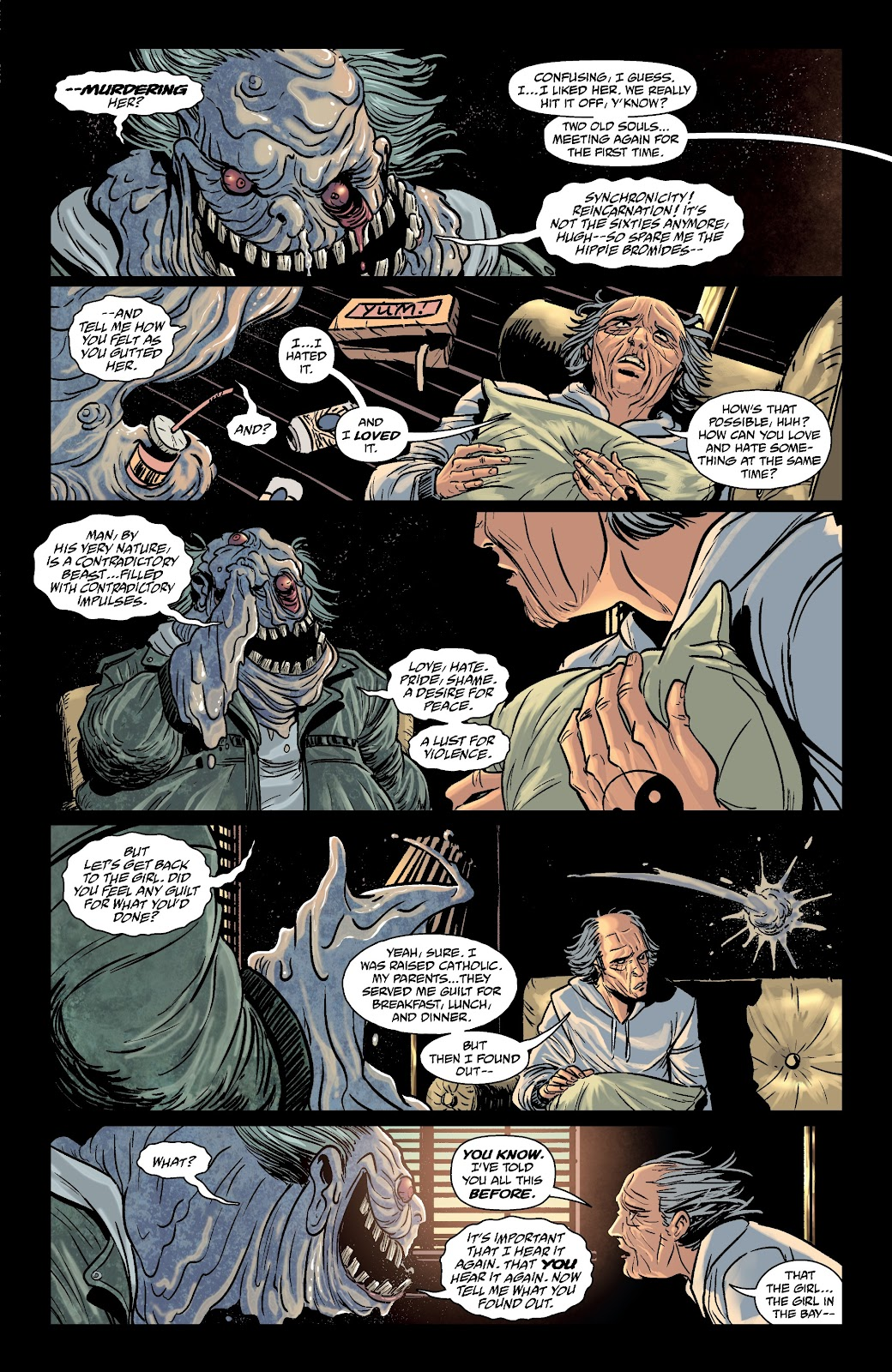 Read online The Girl In The Bay comic -  Issue #3 - 5