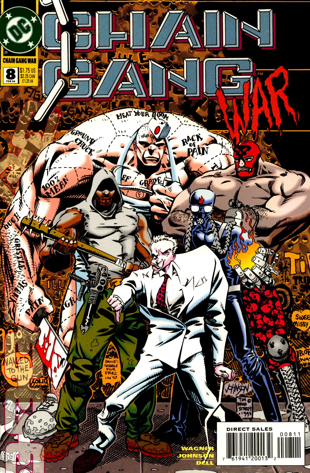 Chain Gang War 8 Page 1