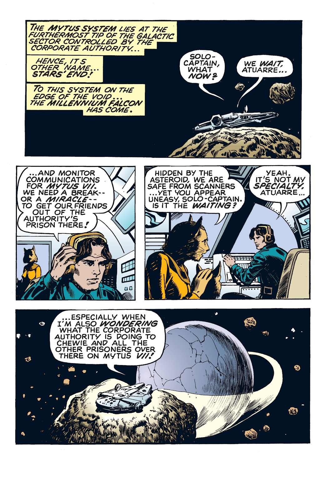 Read online Star Wars Legends: The Newspaper Strips - Epic Collection comic -  Issue # TPB (Part 4) - 47