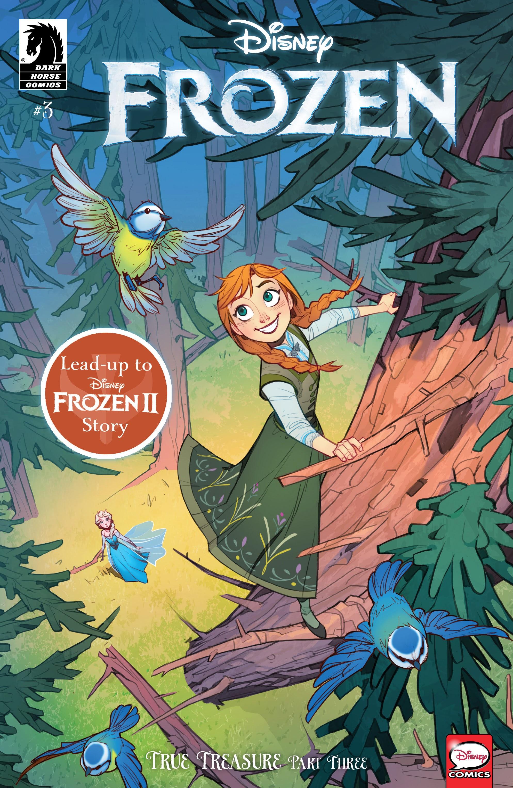 Disney Frozen: True Treasure 3 Page 1