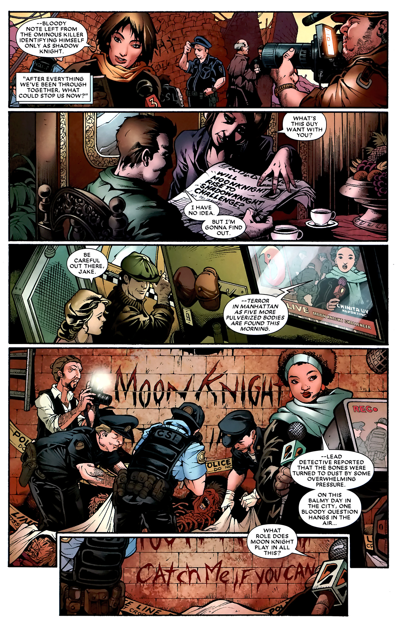 Read online Shadowland: Moon Knight comic -  Issue #1 - 30
