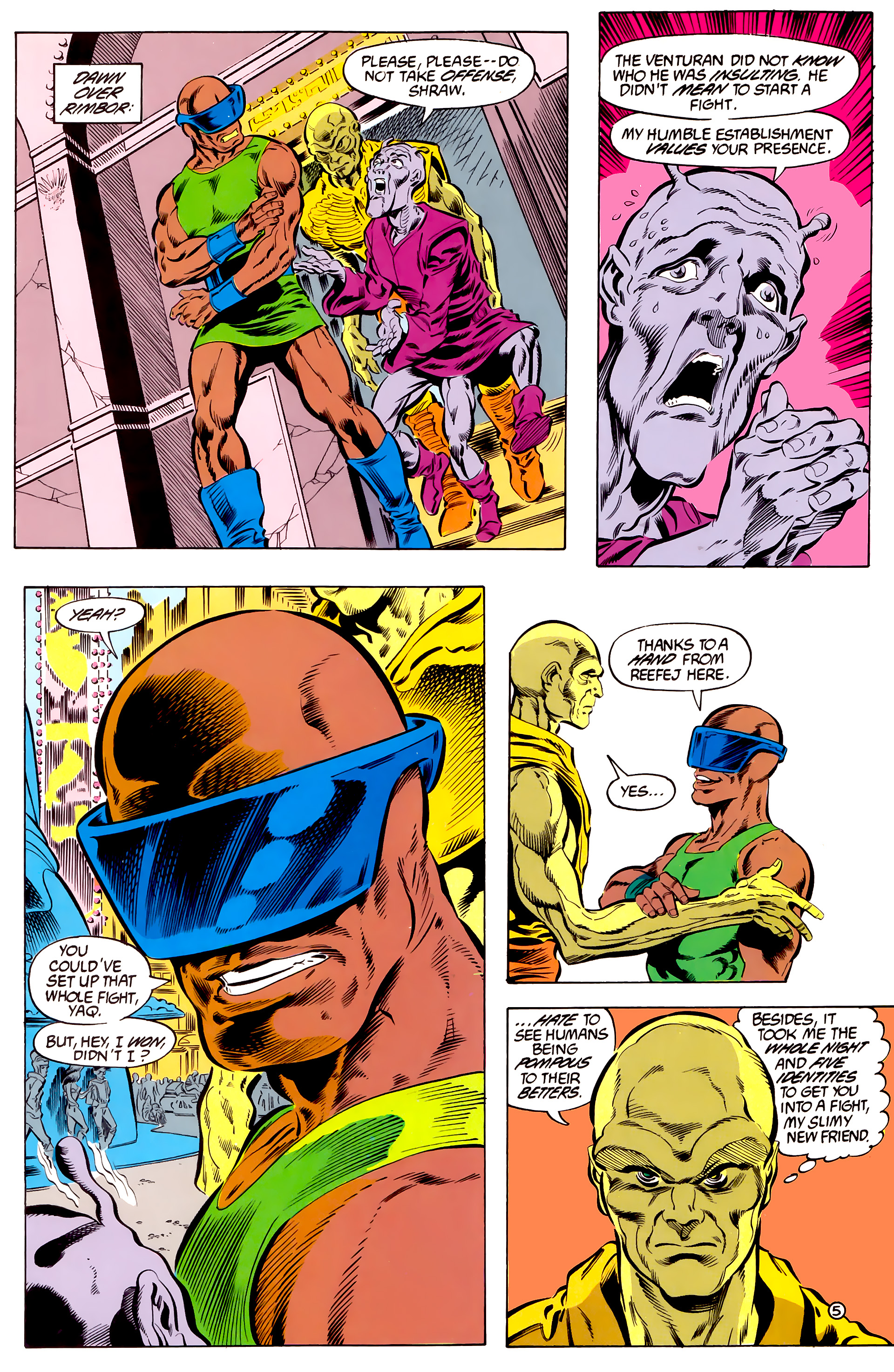 Legion of Super-Heroes (1984) 46 Page 5
