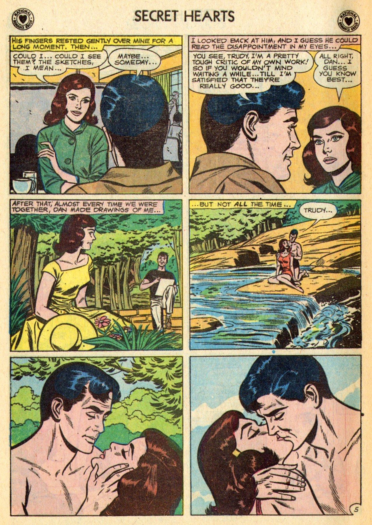 Read online Secret Hearts comic -  Issue #70 - 16