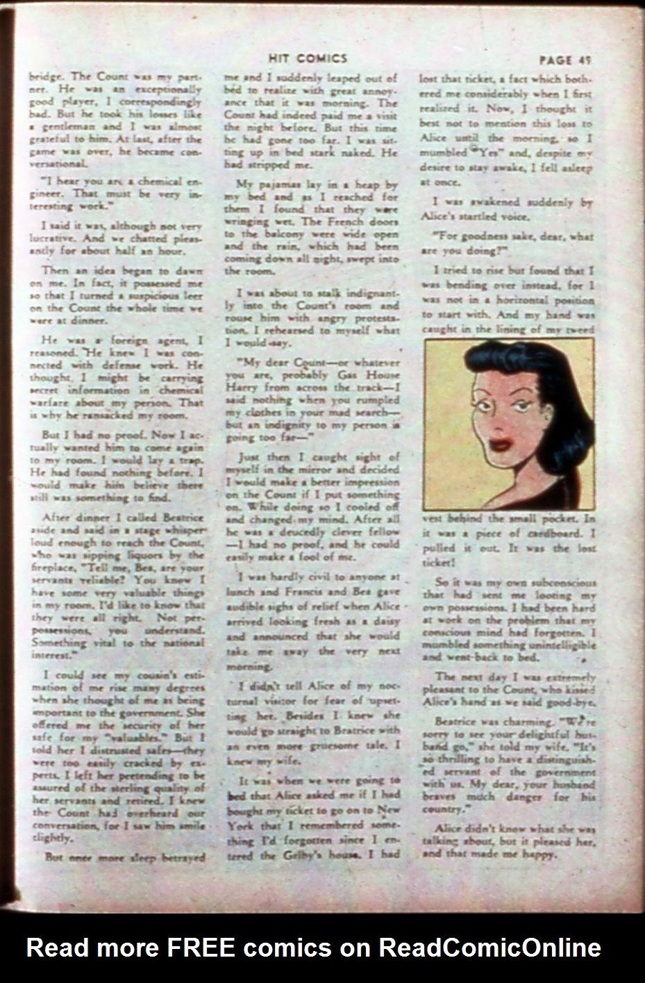 Read online Hit Comics comic -  Issue #14 - 51