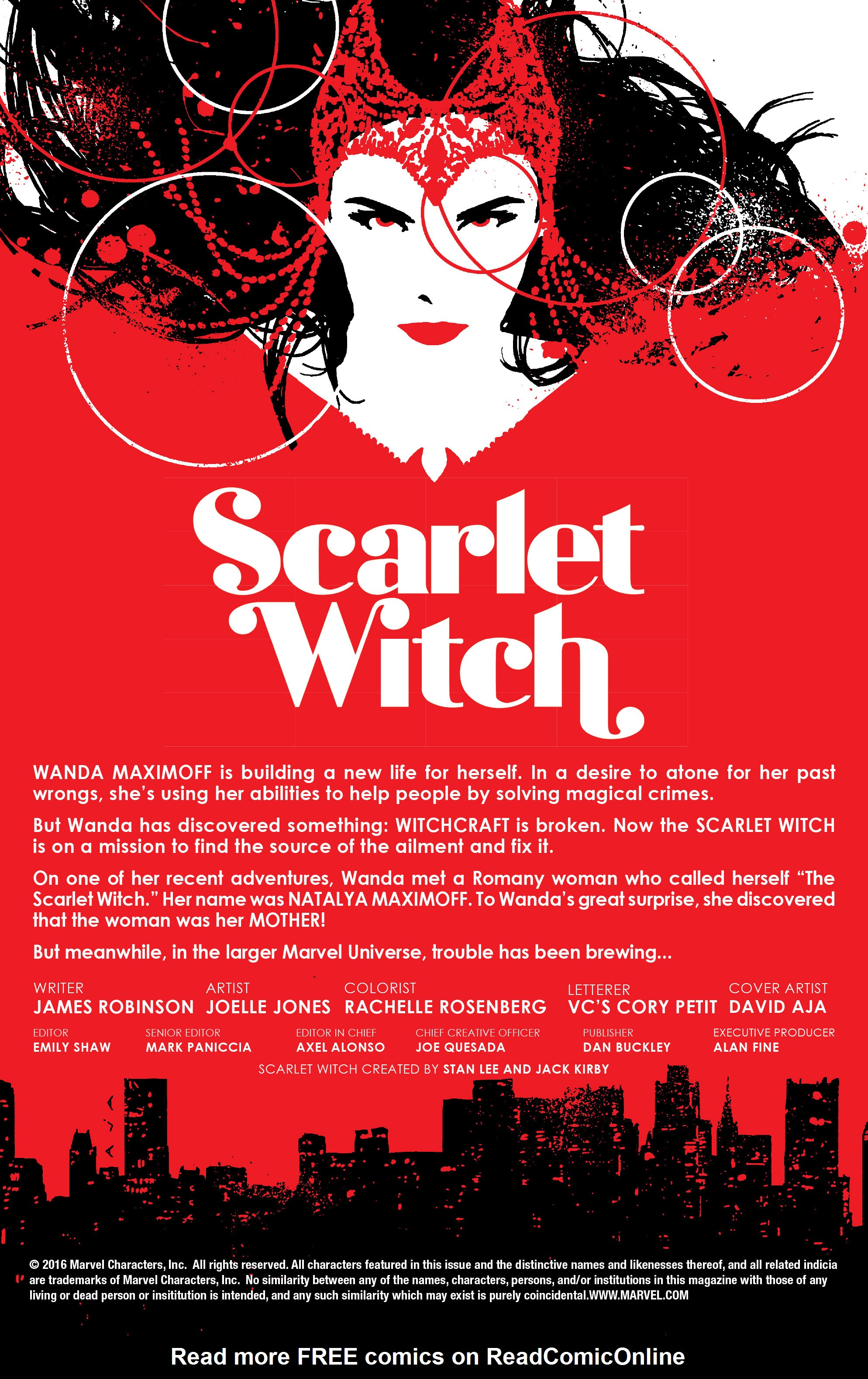 Read online Scarlet Witch (2016) comic -  Issue #9 - 2