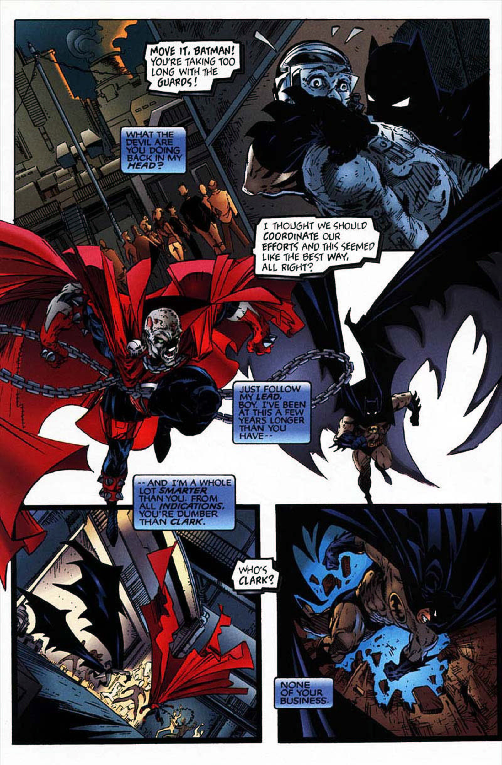 Read online Spawn-Batman comic -  Issue # Full - 48