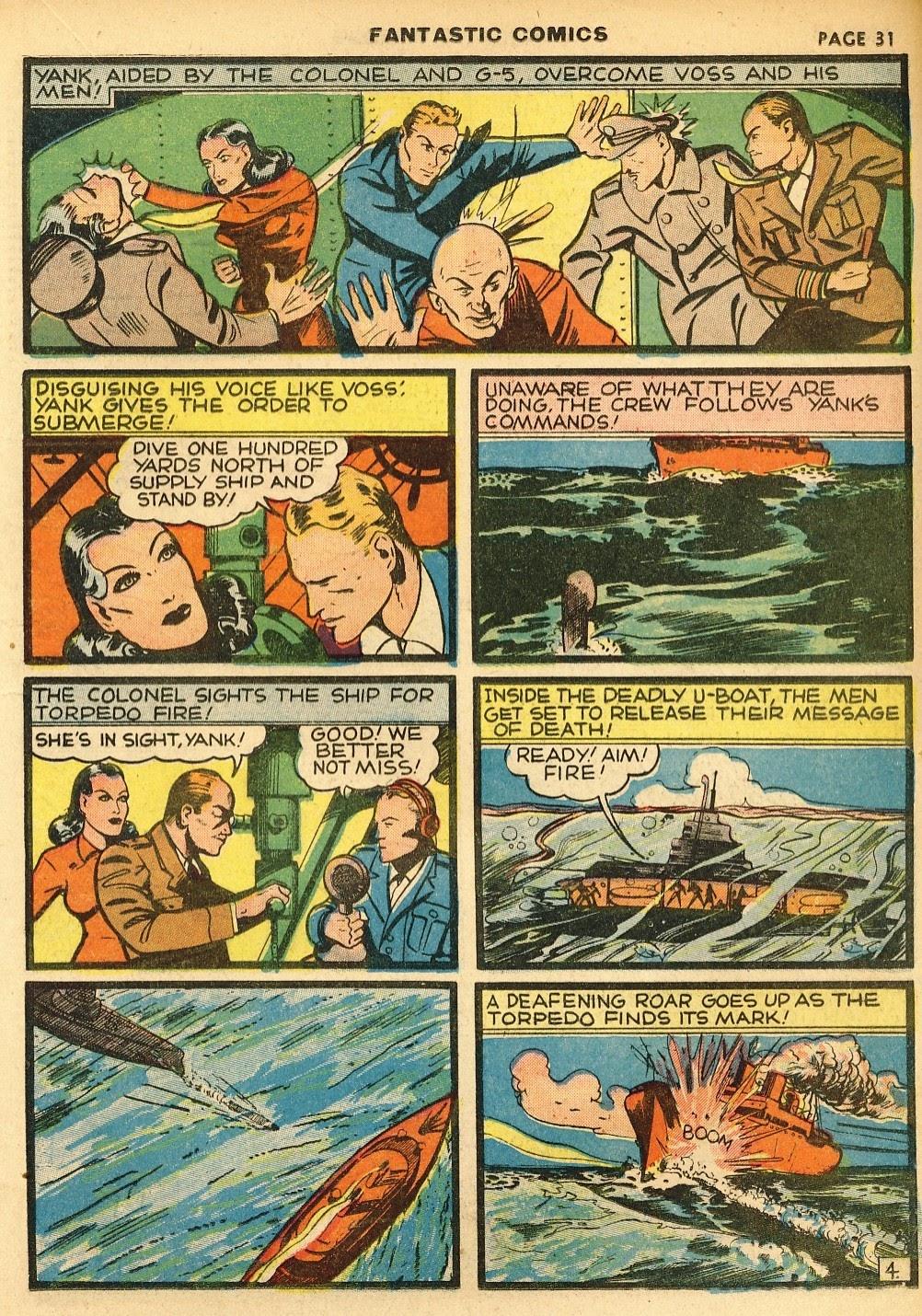 Read online Fantastic Comics comic -  Issue #10 - 32