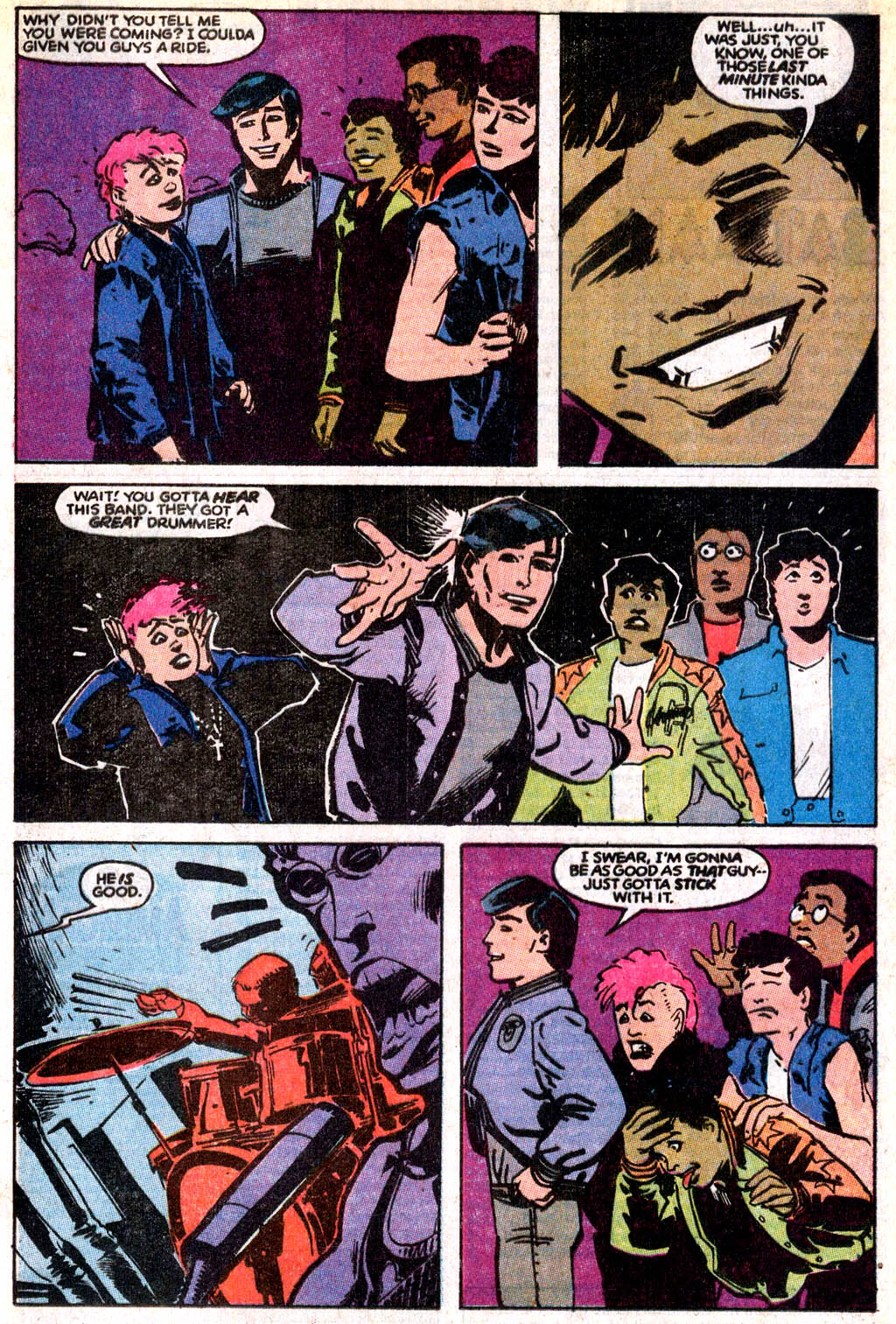 Steeltown Rockers issue 2 - Page 9