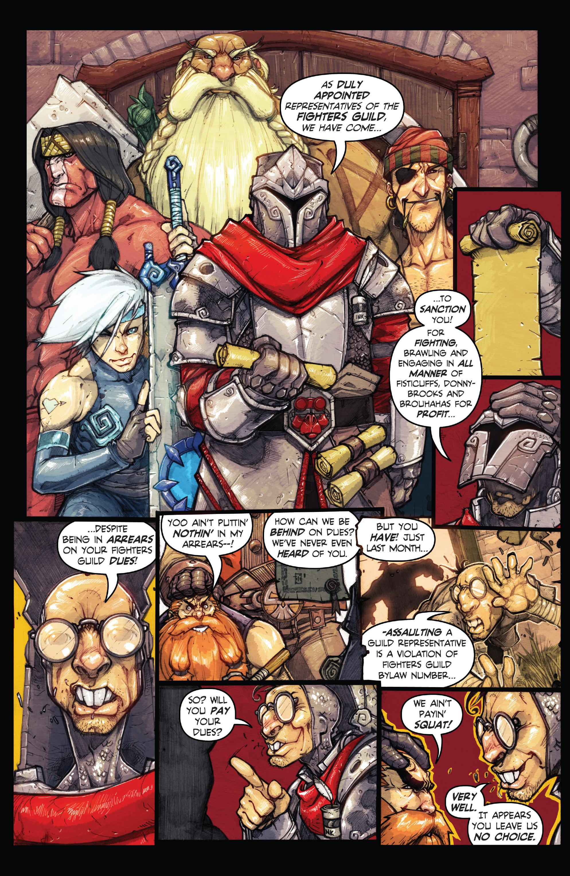 Read online Skullkickers comic -  Issue #18 - 32