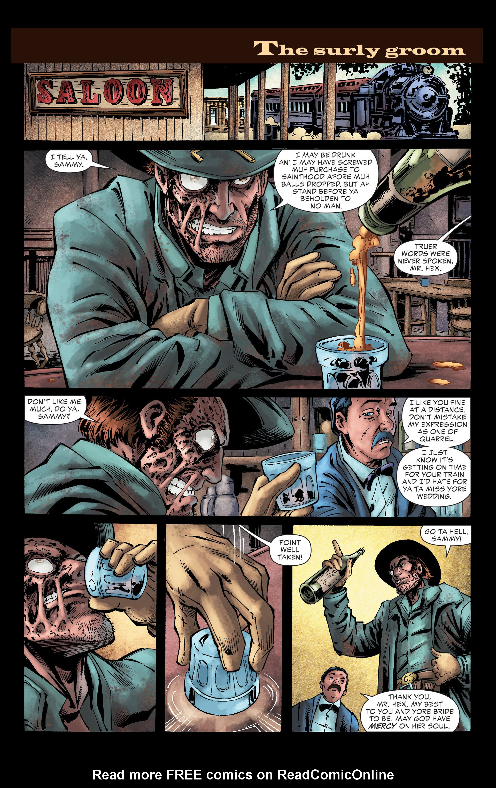 Read online All-Star Western (2011) comic -  Issue #26 - 6