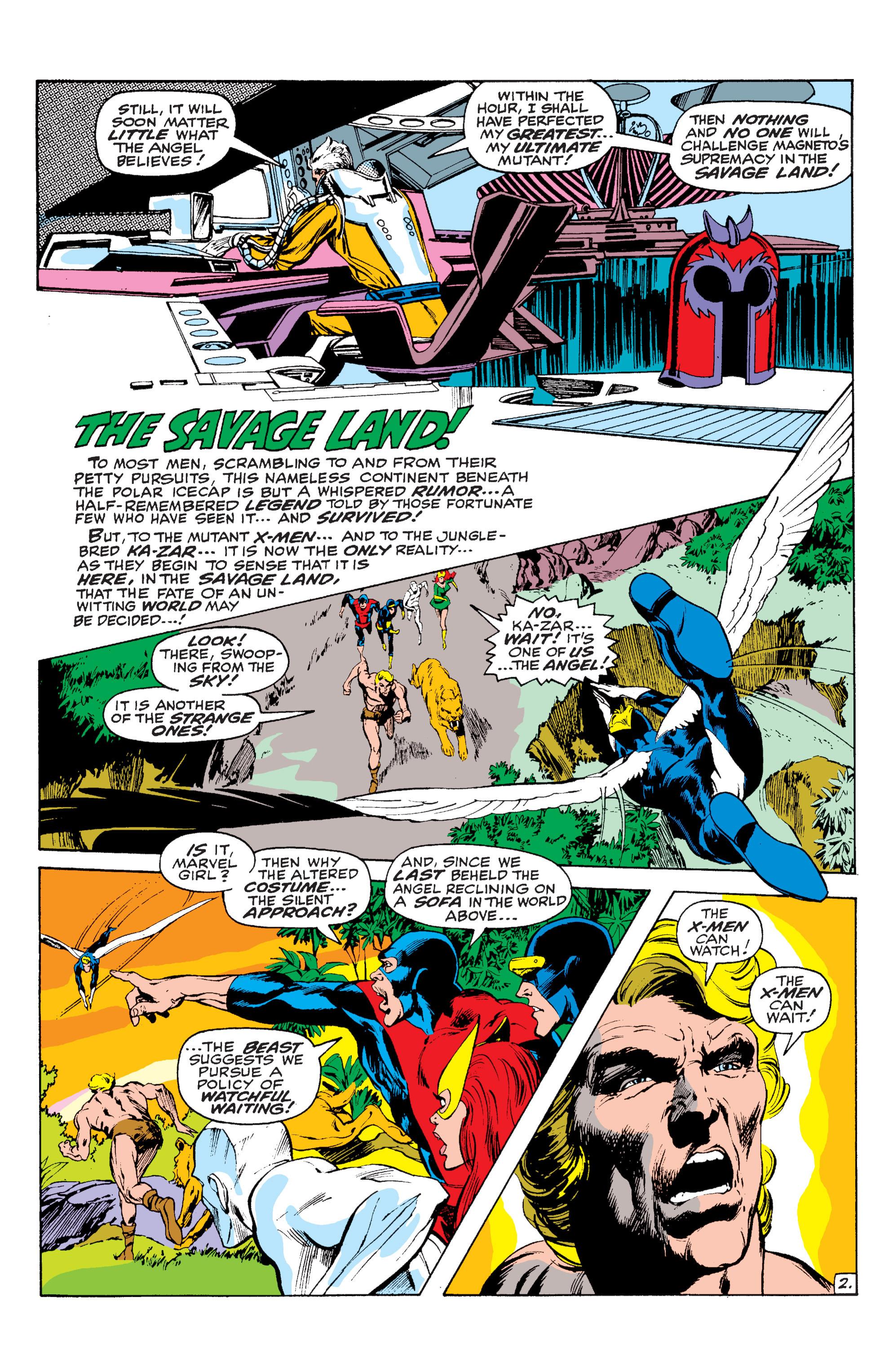 Read online Uncanny X-Men (1963) comic -  Issue #63 - 3