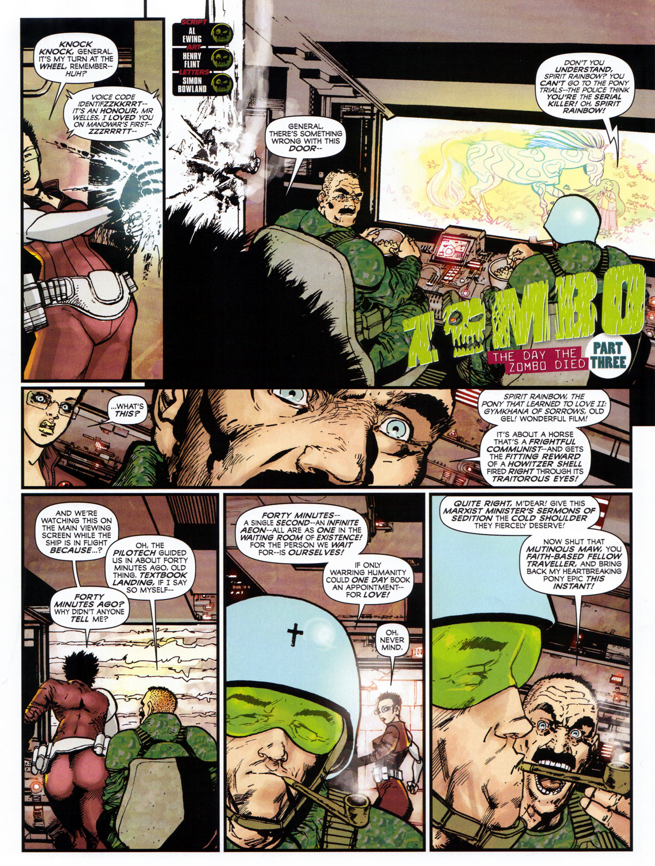 Read online 2000 AD comic -  Issue #1746 - 101