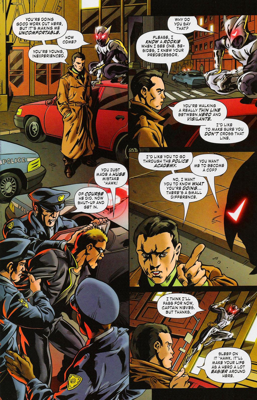 Read online ShadowHawk (2005) comic -  Issue #3 - 3