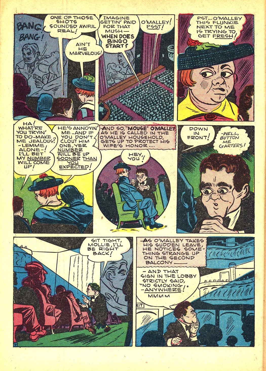 Read online Sensation (Mystery) Comics comic -  Issue #8 - 34