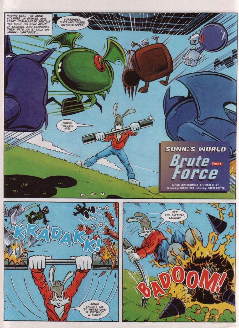 Read online Sonic the Comic comic -  Issue #71 - 24