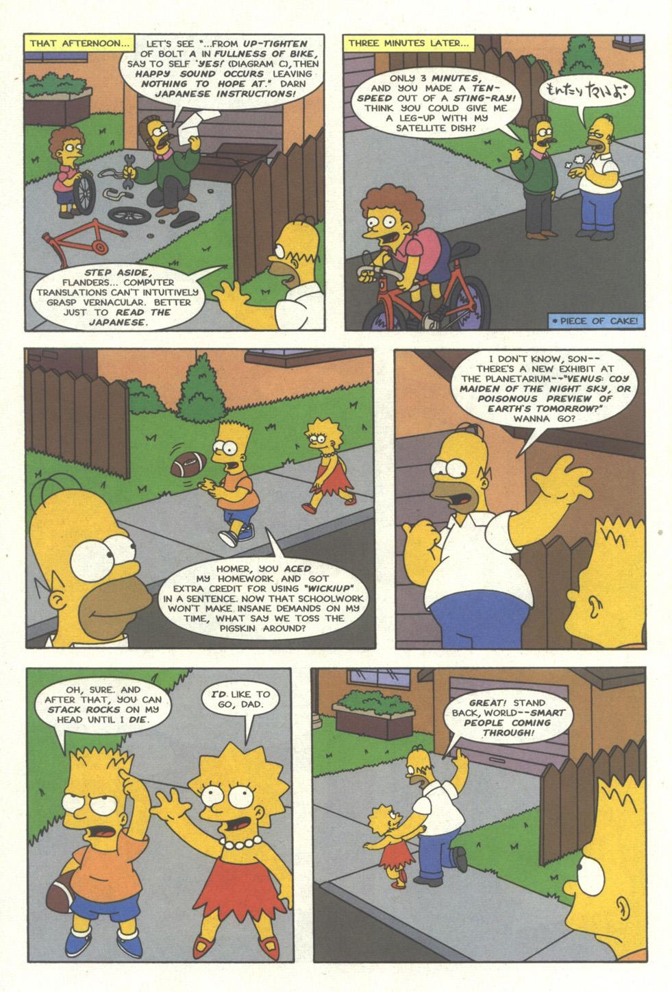Read online Simpsons Comics comic -  Issue #27 - 13