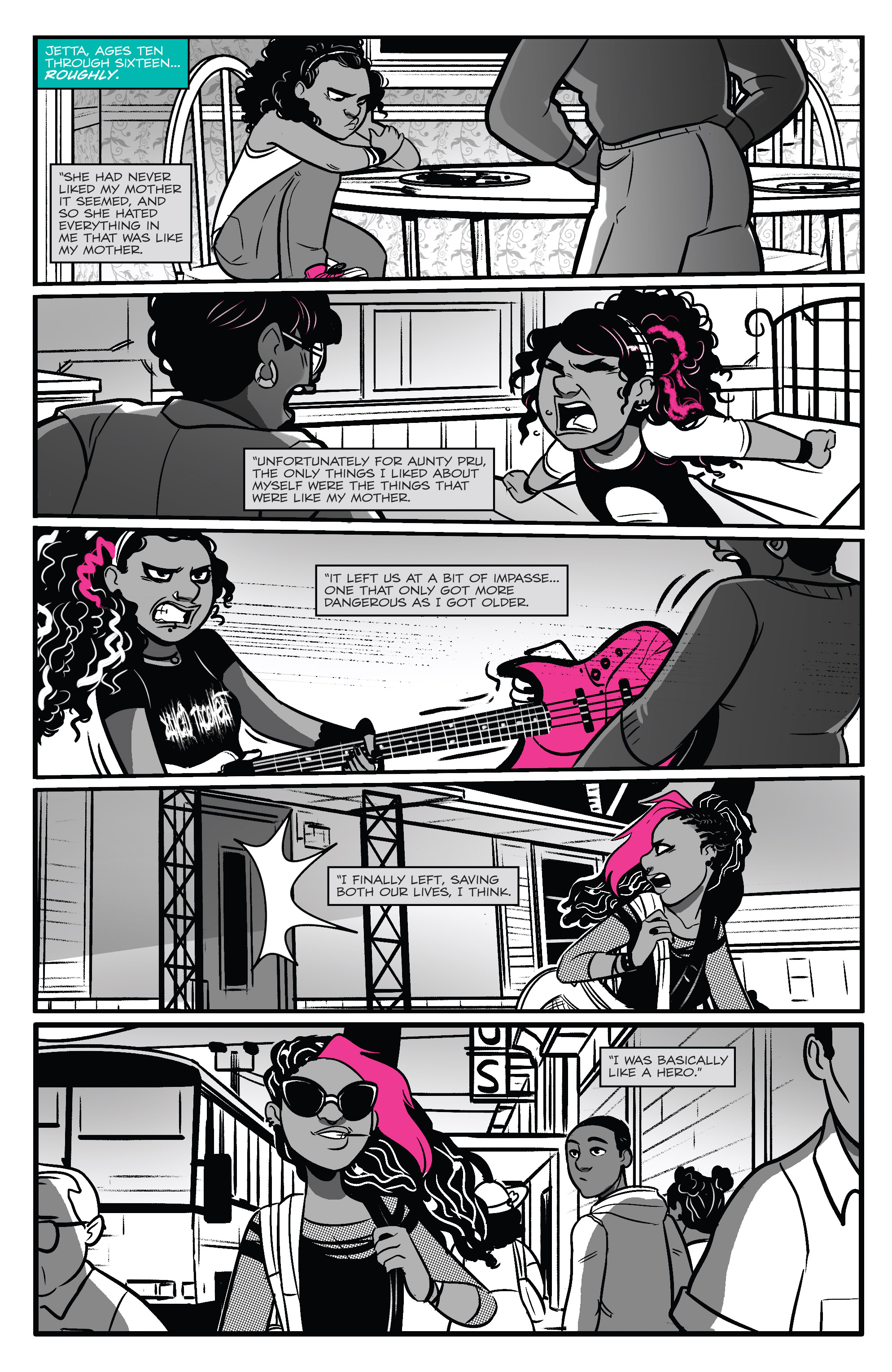Read online Jem: The Misfits comic -  Issue #5 - 12