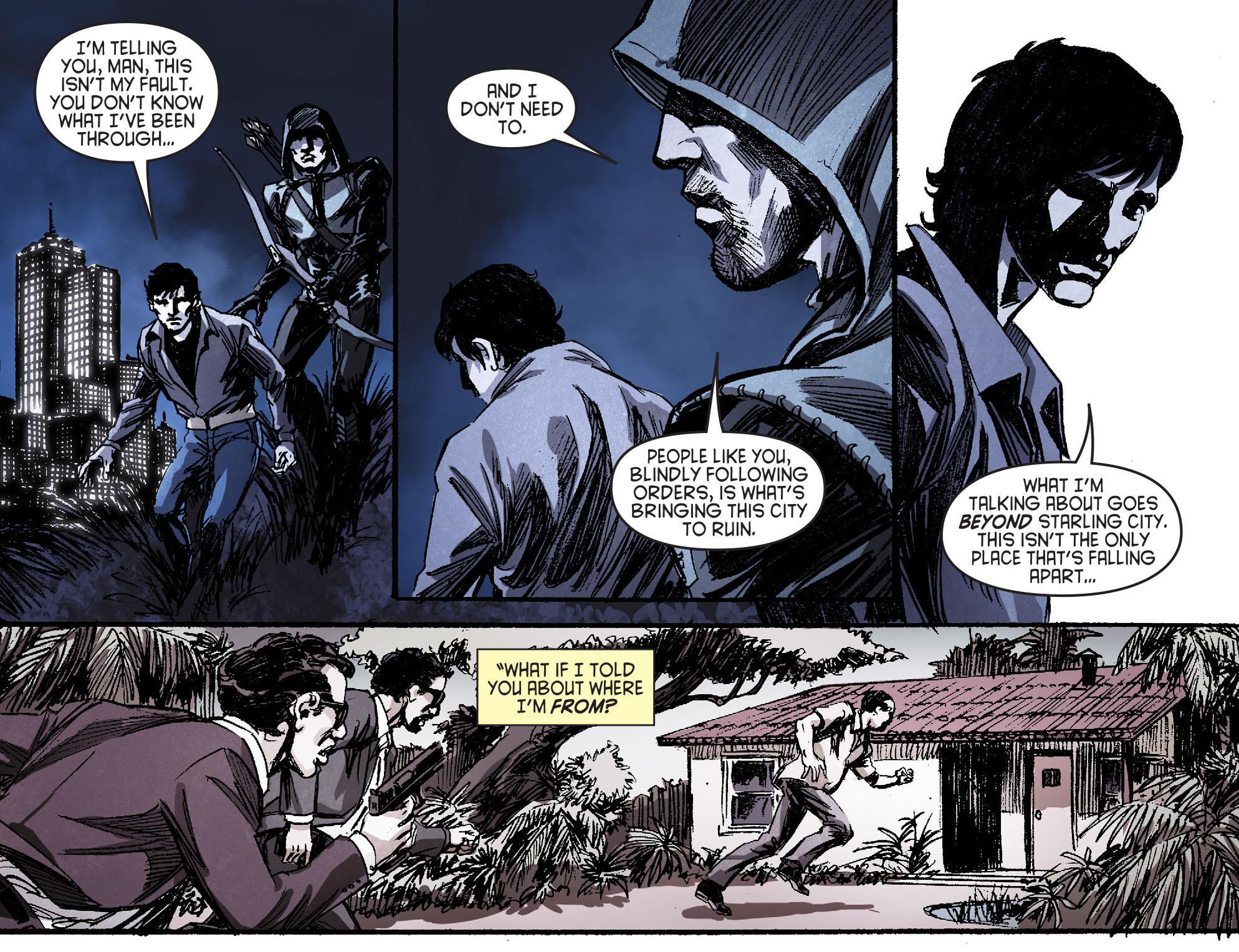 Read online Arrow [II] comic -  Issue #16 - 9