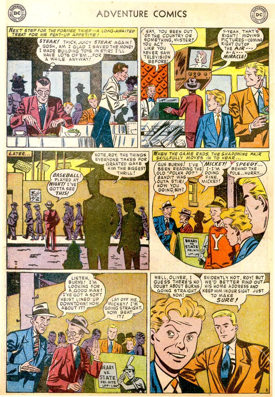 Read online Adventure Comics (1938) comic -  Issue #183 - 36