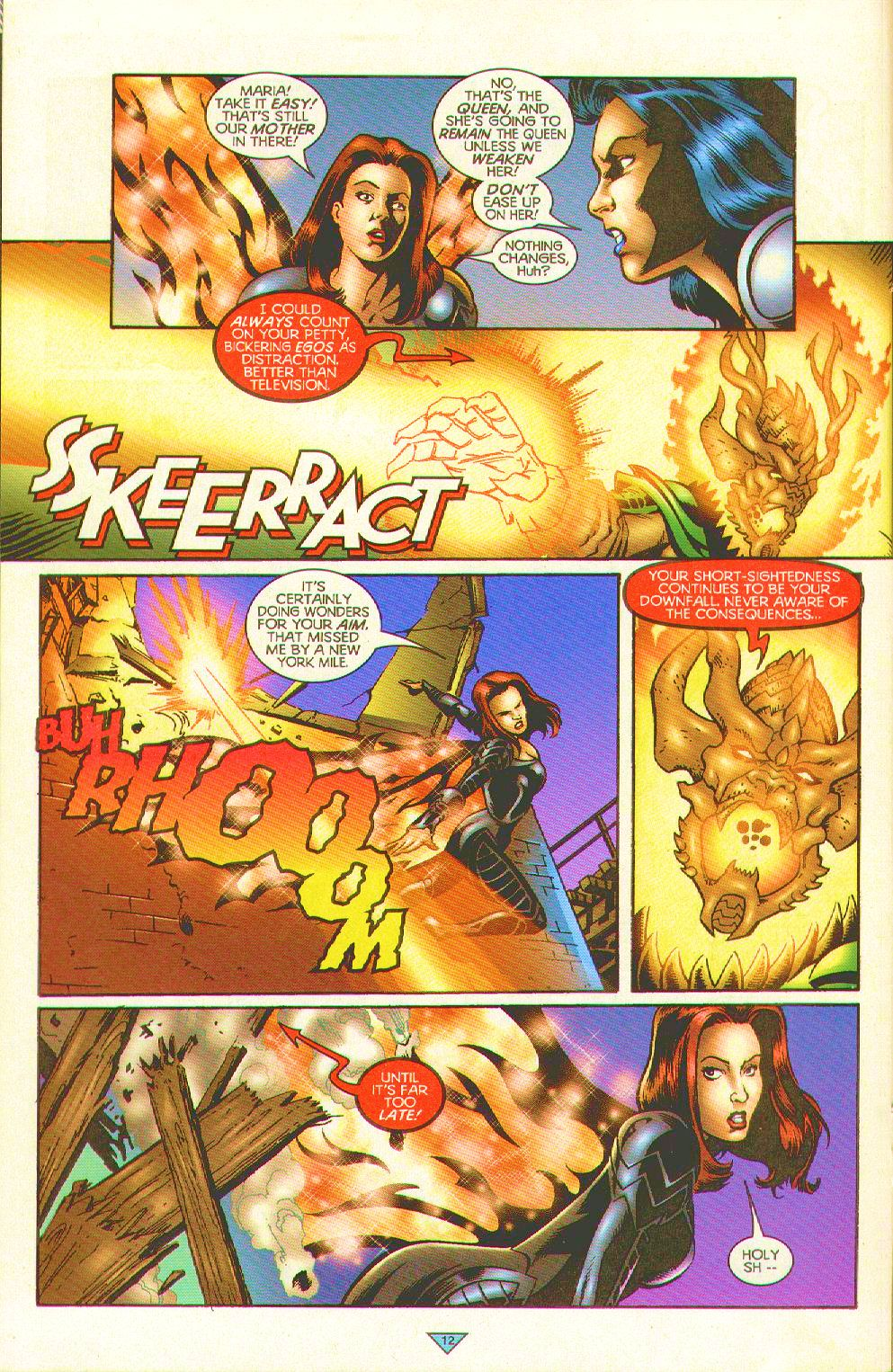 Read online Trinity Angels comic -  Issue #12 - 12