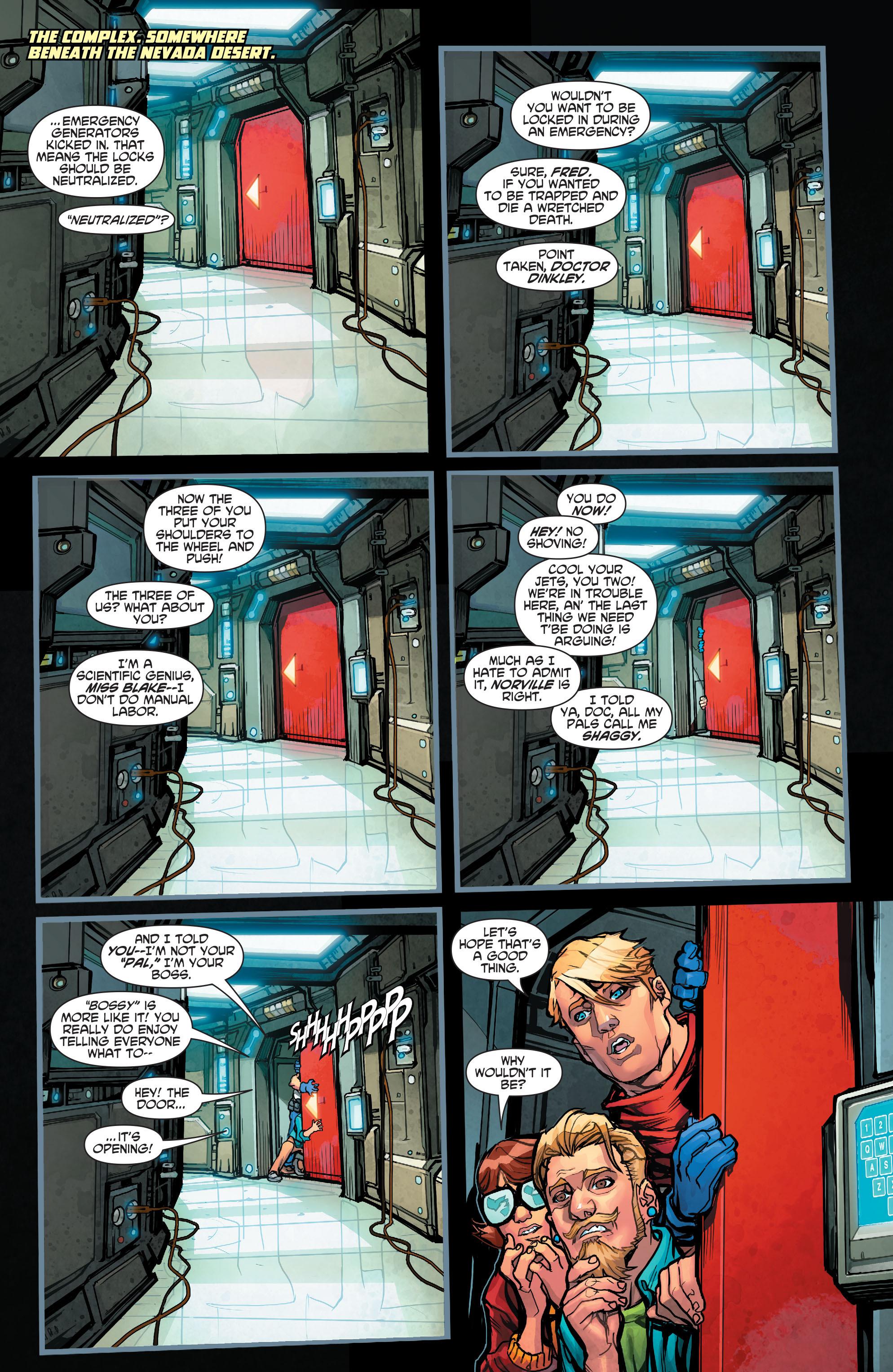 Read online Scooby Apocalypse comic -  Issue #2 - 4