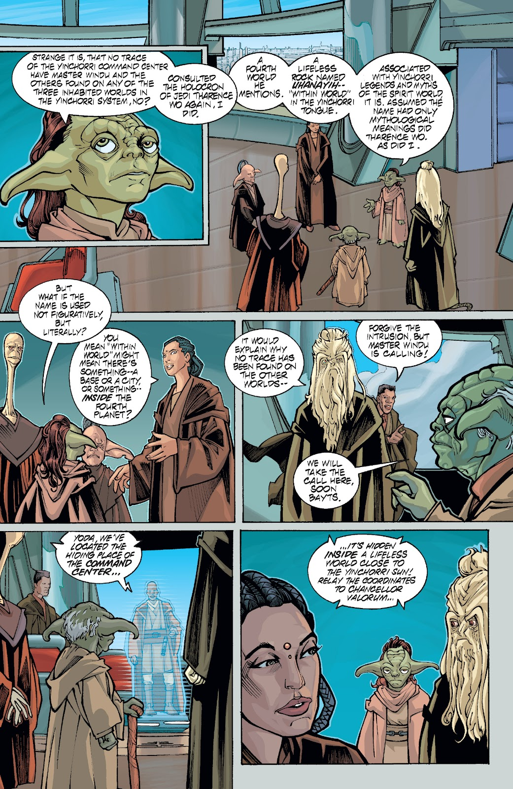 Read online Star Wars Legends: Rise of the Sith - Epic Collection comic -  Issue # TPB 1 (Part 5) - 41