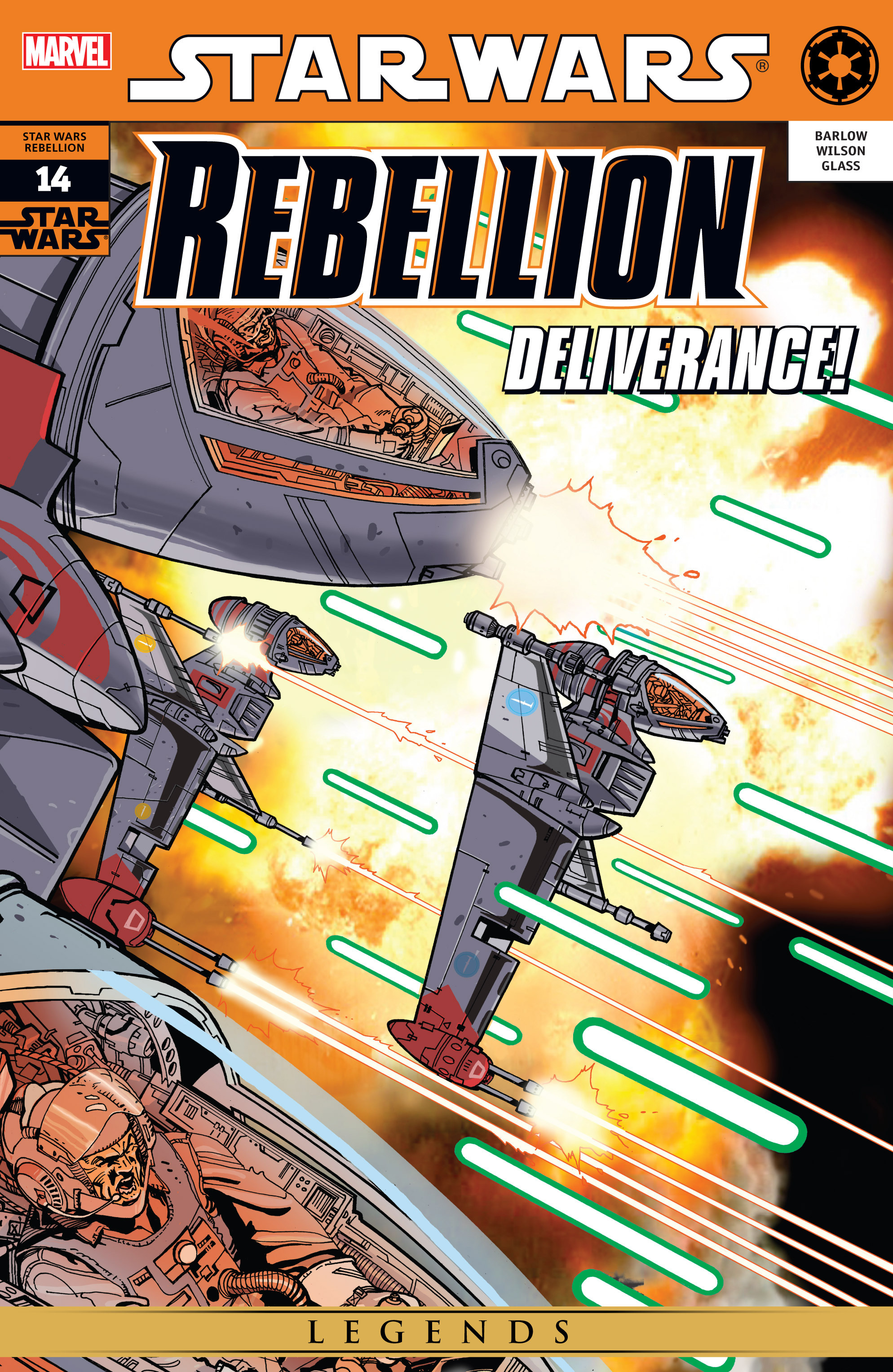 Star Wars: Rebellion 14 Page 1