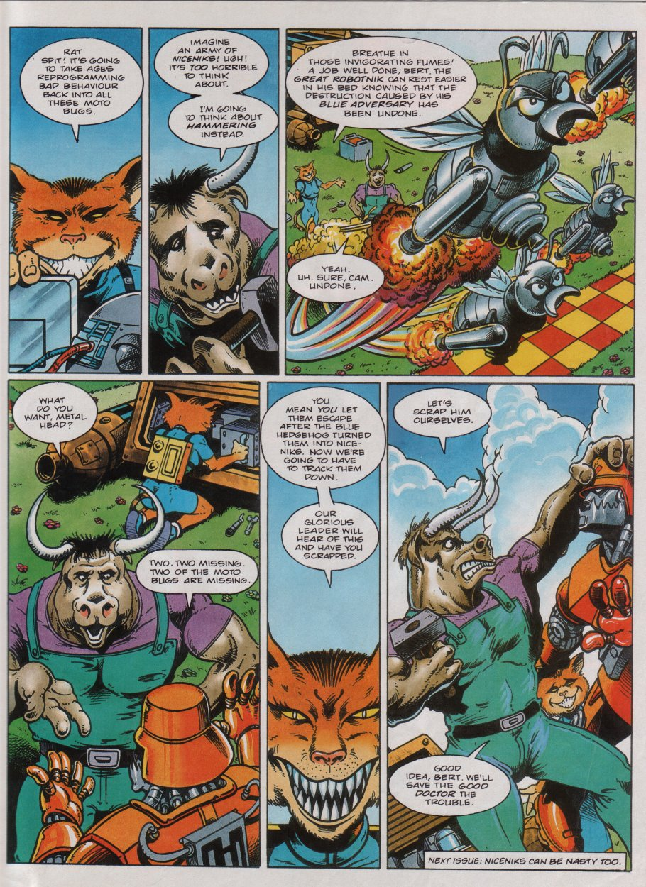 Read online Sonic the Comic comic -  Issue #32 - 22