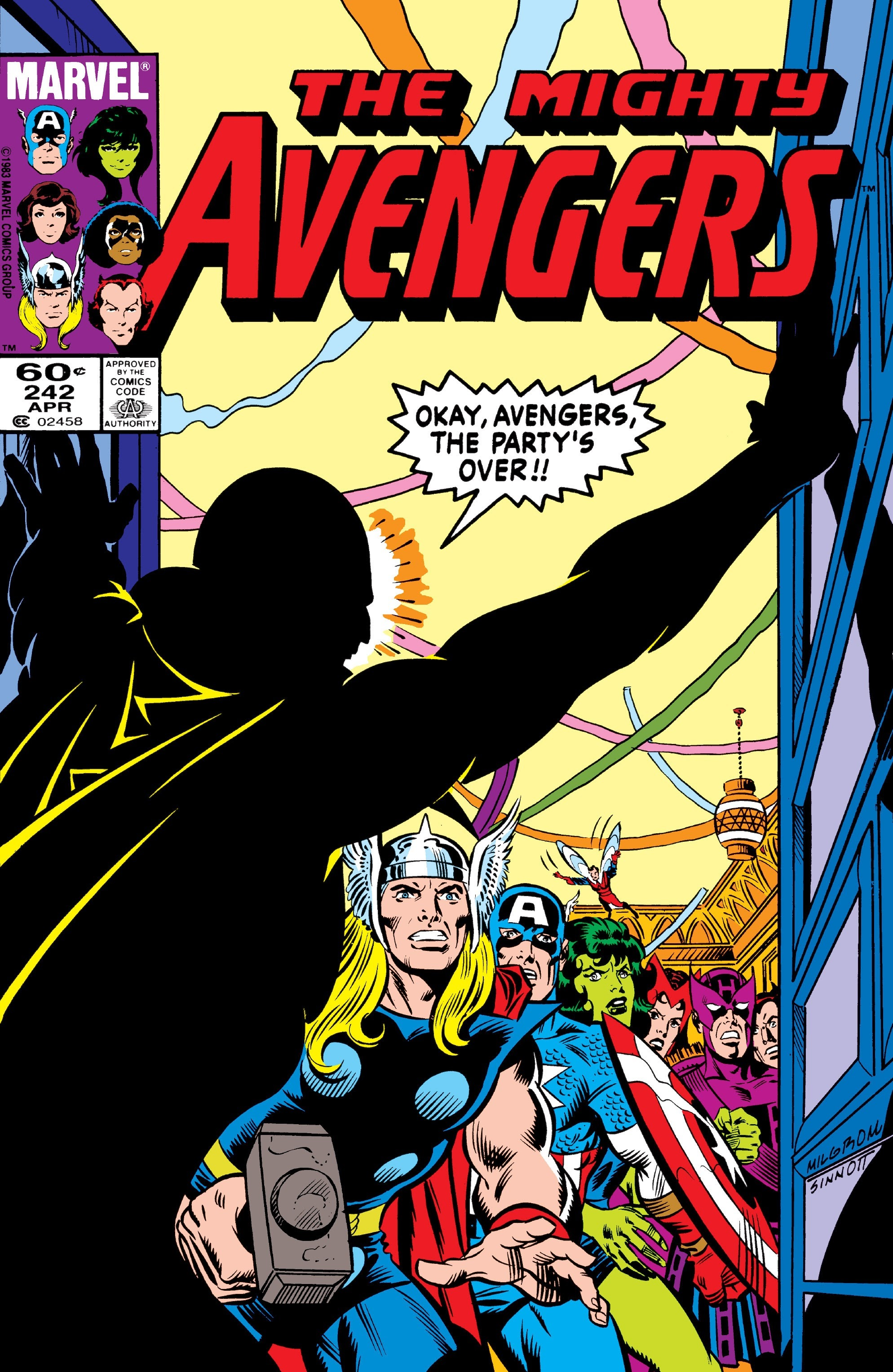 The Avengers (1963) 242 Page 1