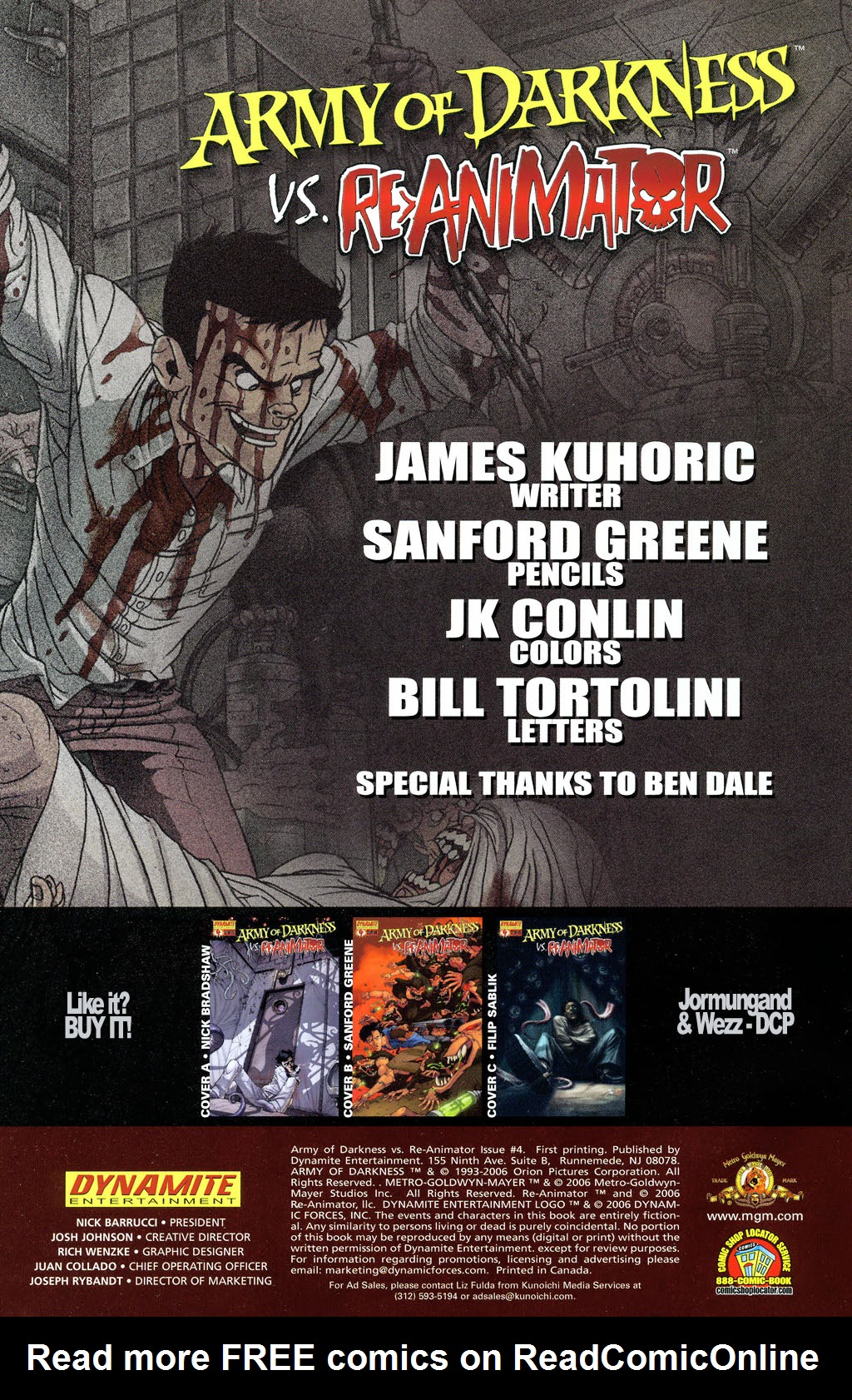 Read online Army of Darkness vs. Re-Animator comic -  Issue #4 - 4