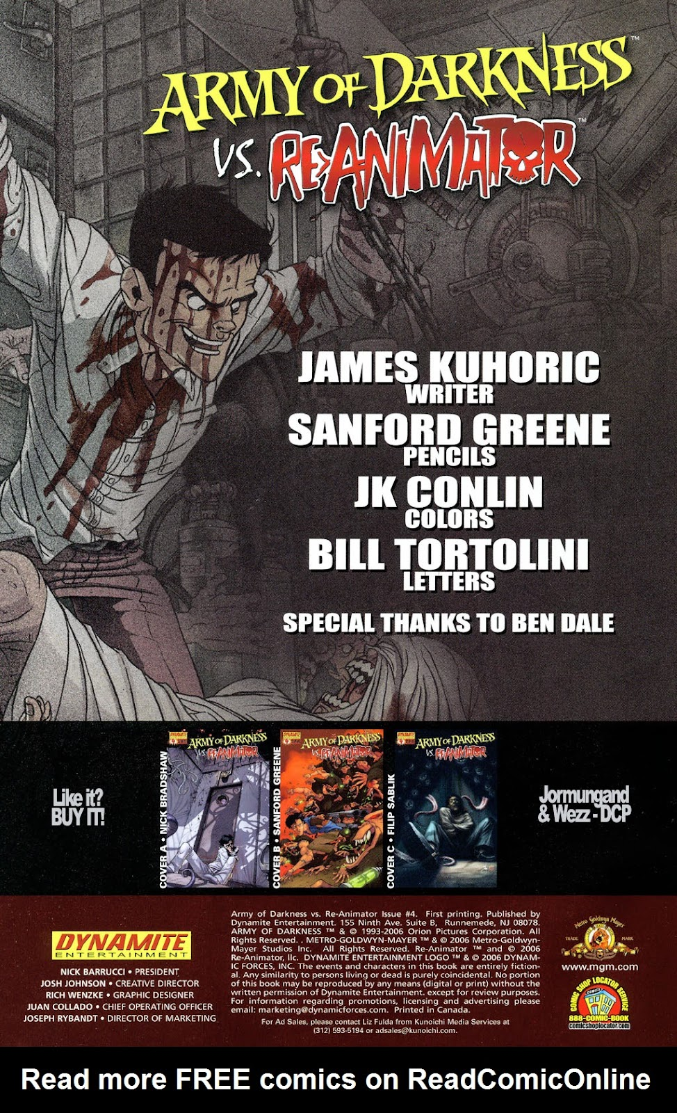 Army of Darkness vs. Re-Animator Issue #4 #4 - English 4
