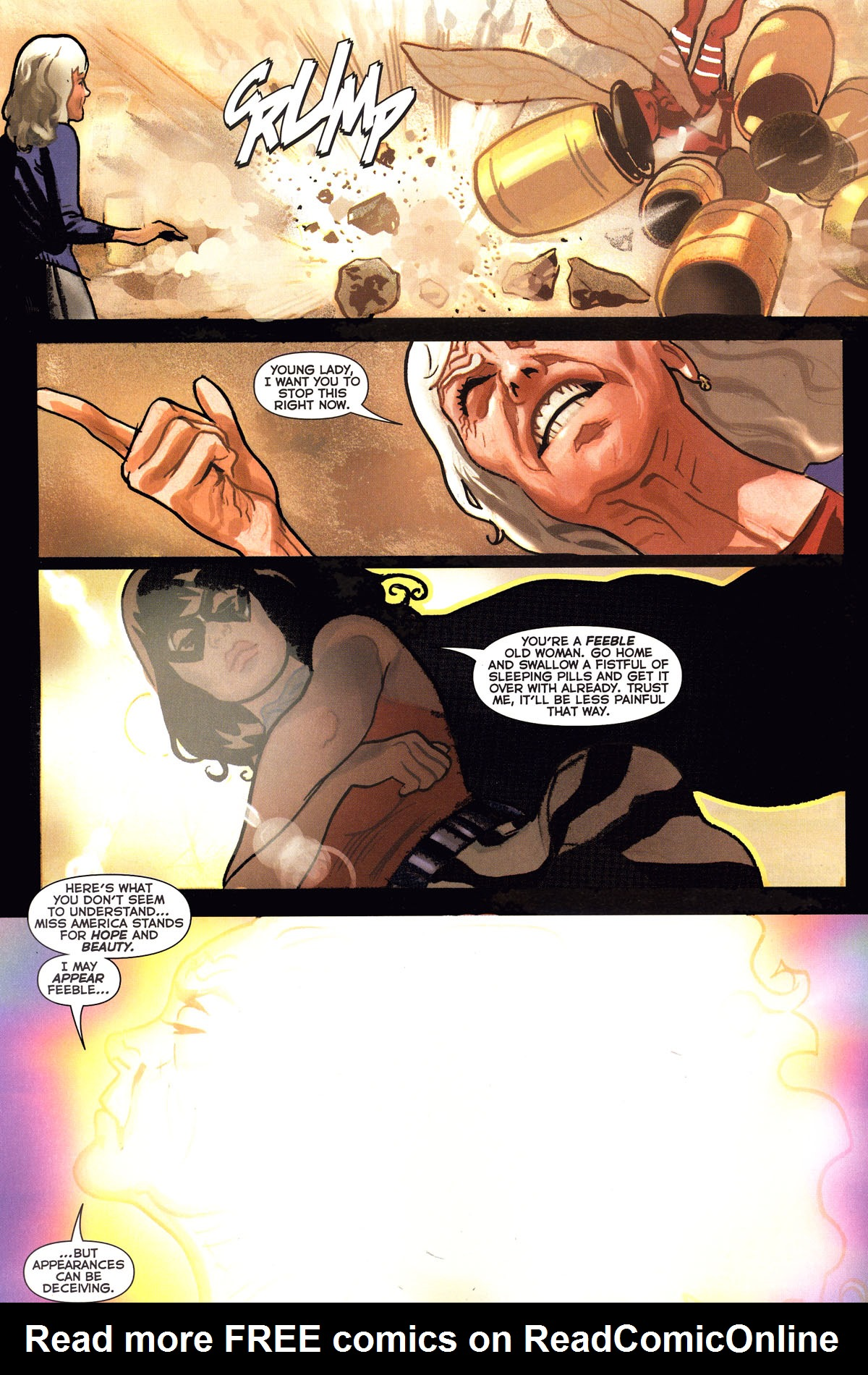 Read online Uncle Sam and the Freedom Fighters (2006) comic -  Issue #6 - 4