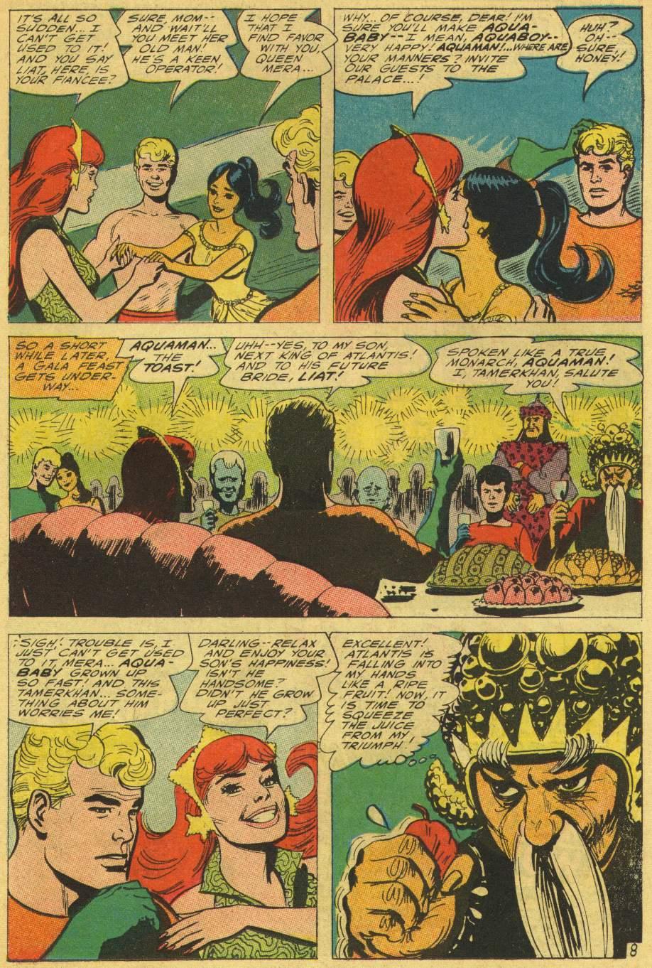 Read online Aquaman (1962) comic -  Issue #25 - 11