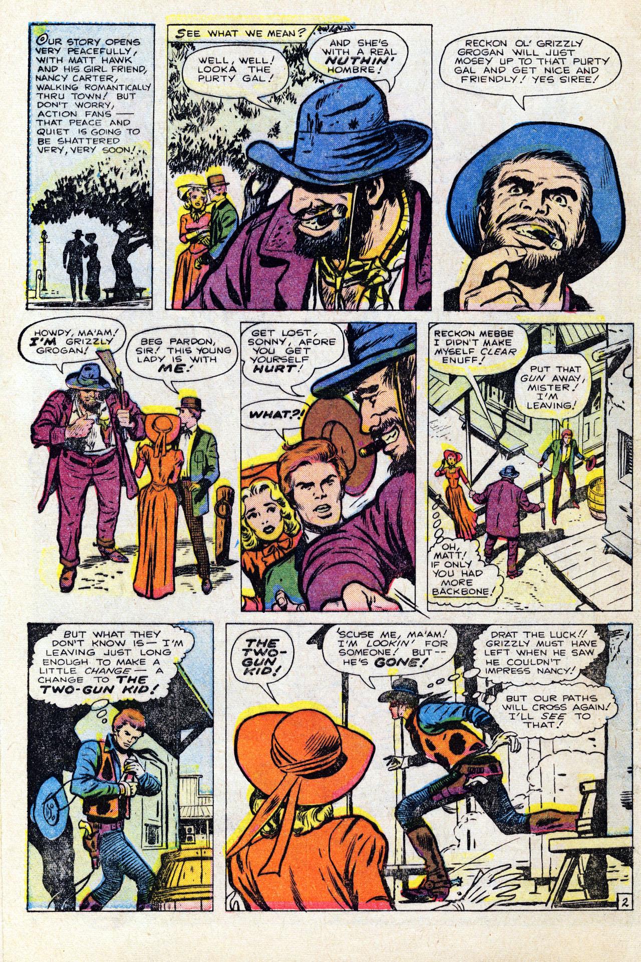 Read online Two-Gun Kid comic -  Issue #64 - 4