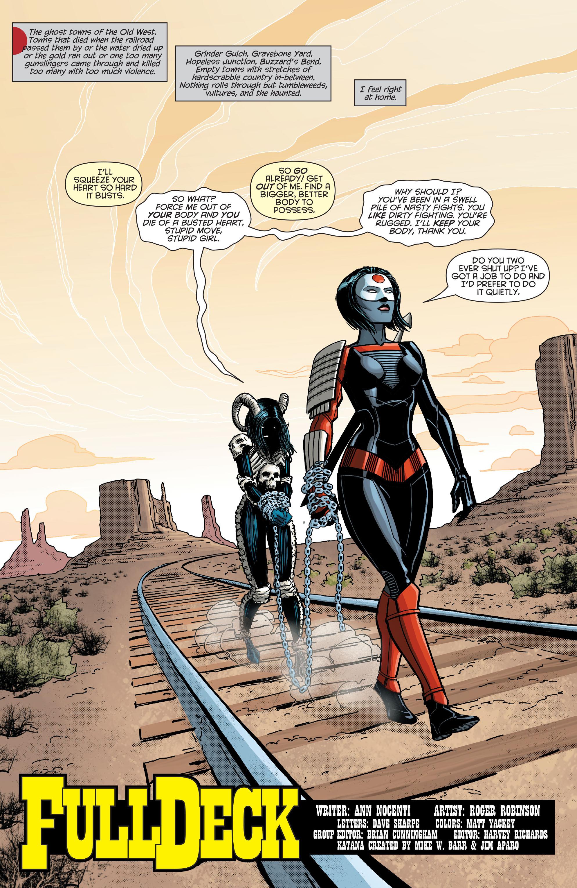Read online Secret Origins (2014) comic -  Issue #8 - 22