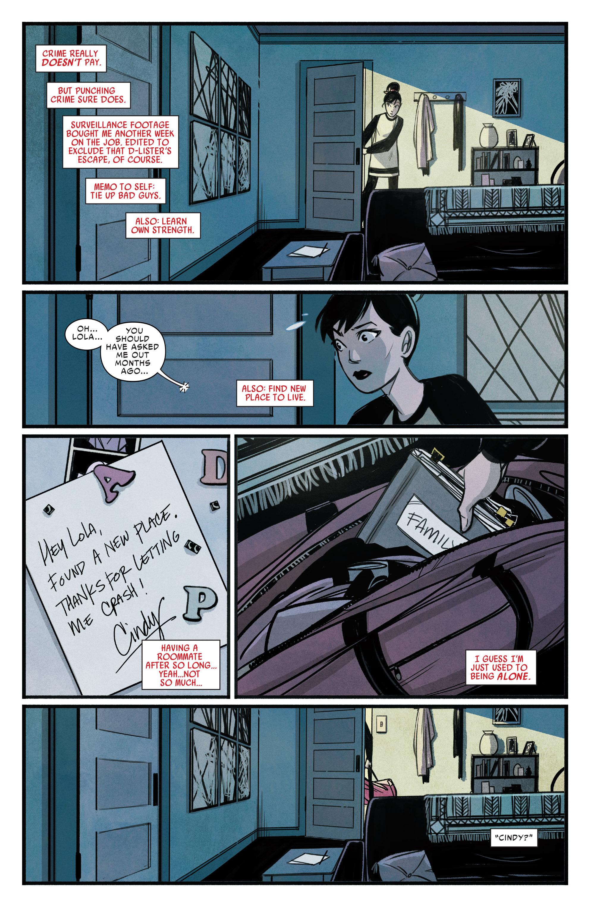 Read online Silk (2015) comic -  Issue #1 - 14