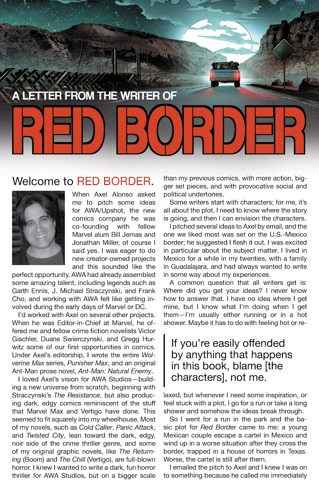 Read online Red Border comic -  Issue #1 - 24