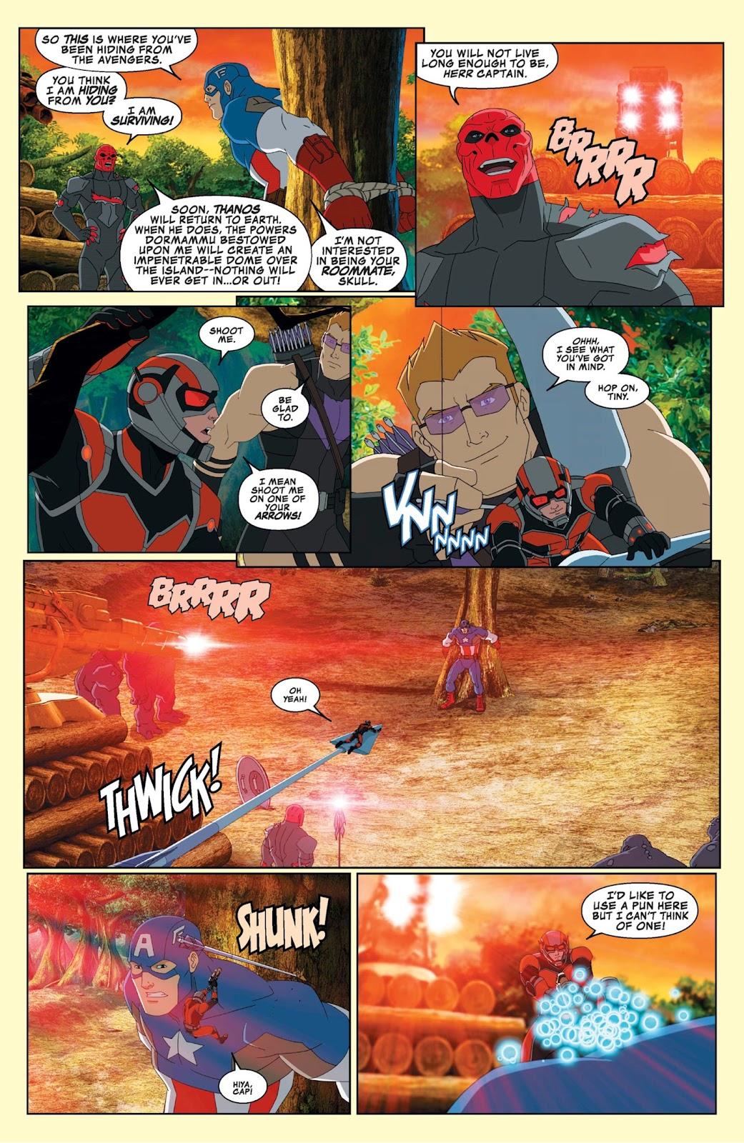 Read online Marvel Universe Avengers Assemble Season 2 comic -  Issue #9 - 16
