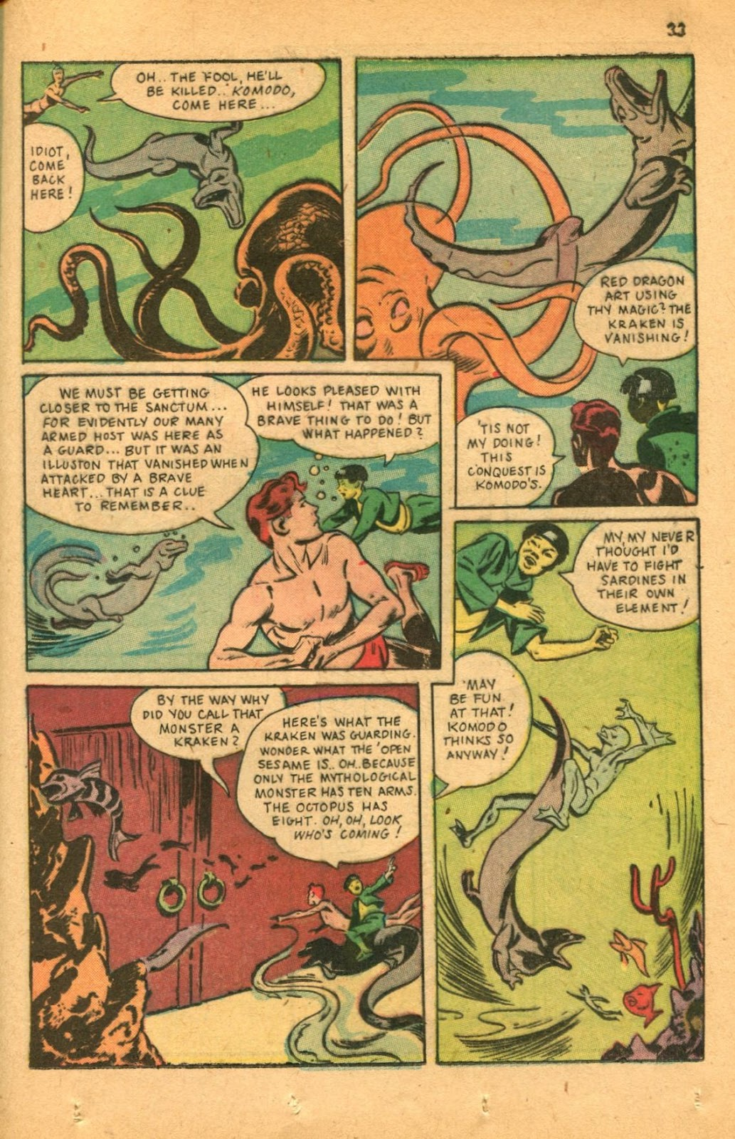 Read online Super-Magician Comics comic -  Issue #46 - 33