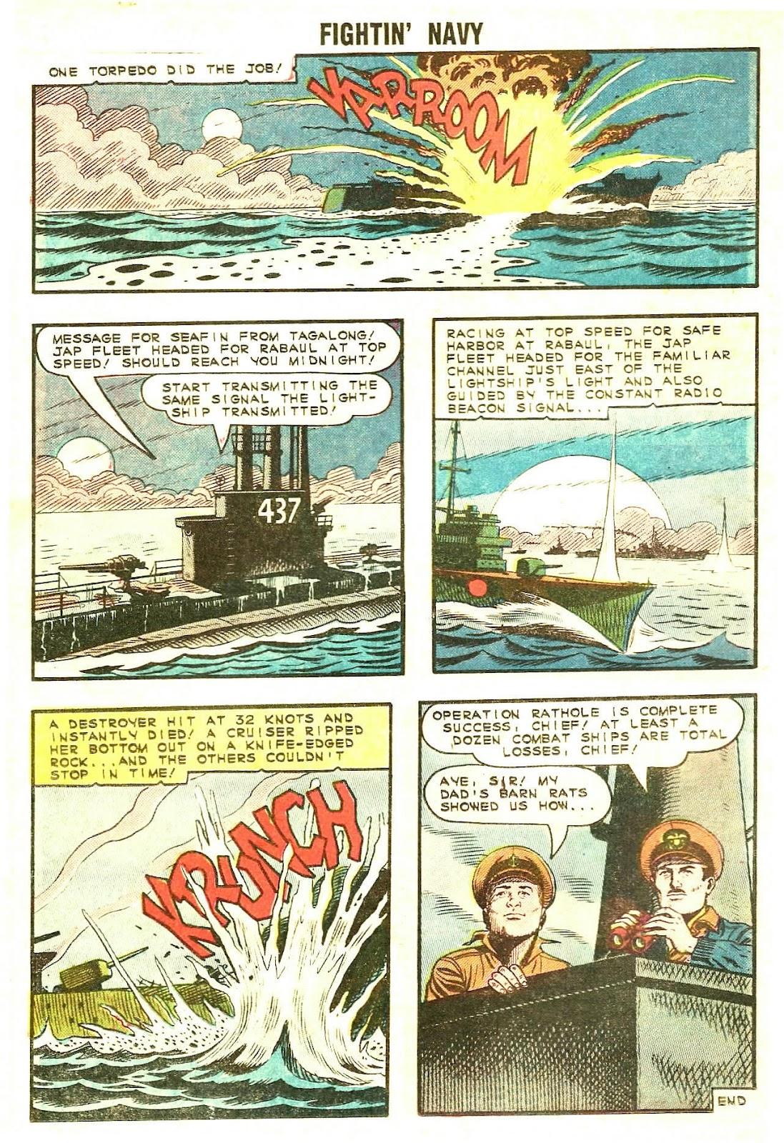 Read online Fightin' Navy comic -  Issue #120 - 12