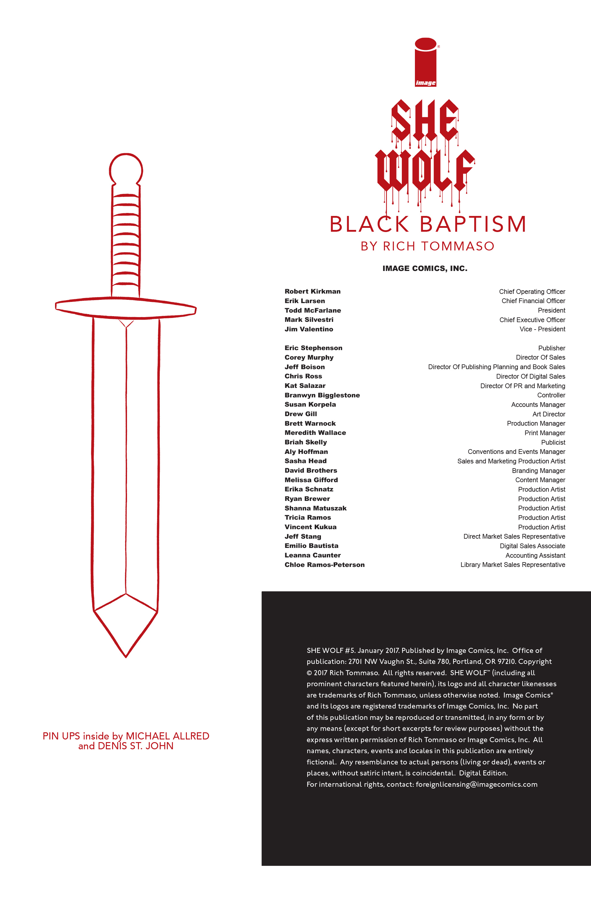 Read online She Wolf comic -  Issue #5 - 23