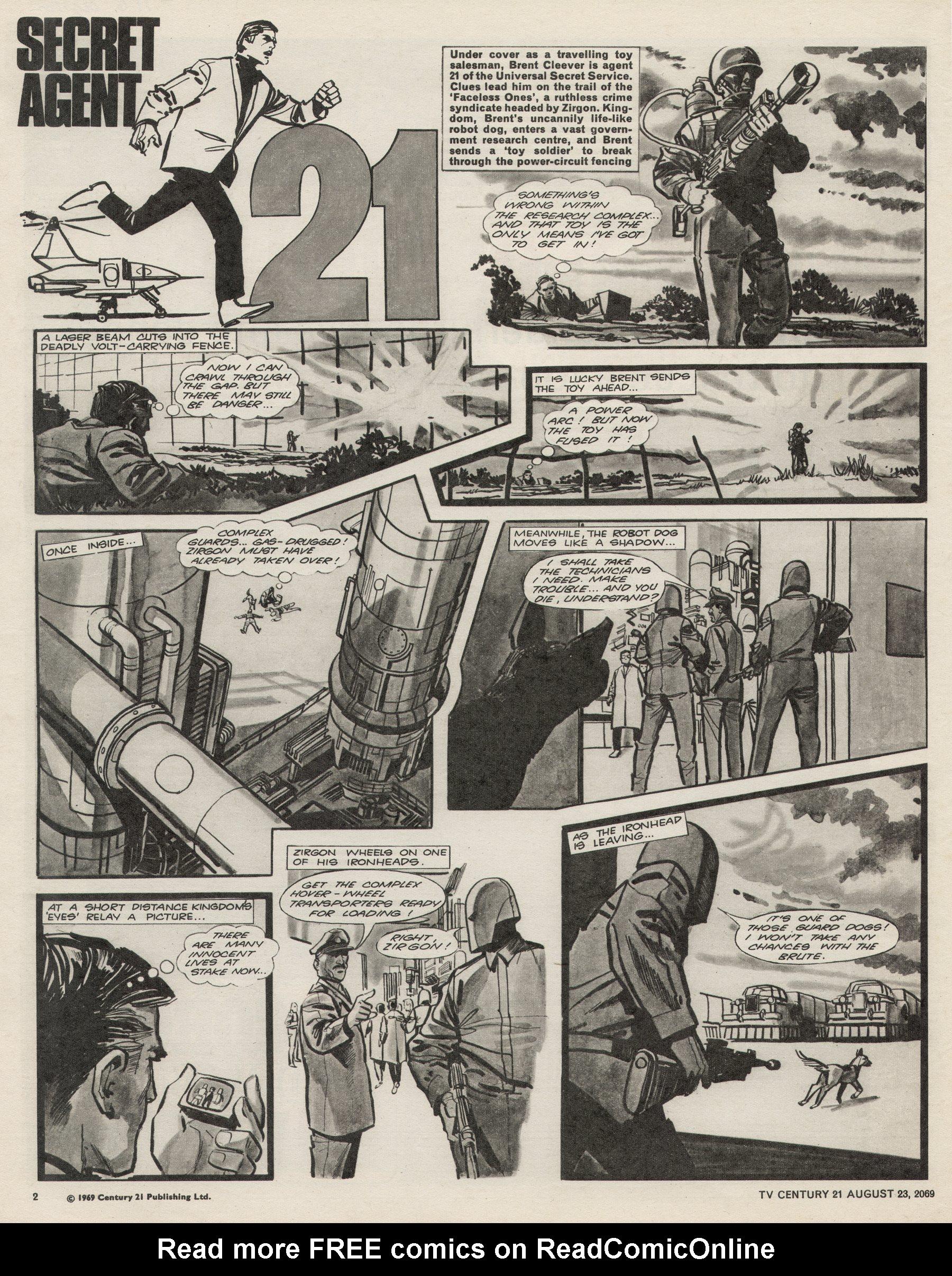 Read online TV Century 21 (TV 21) comic -  Issue #240 - 2