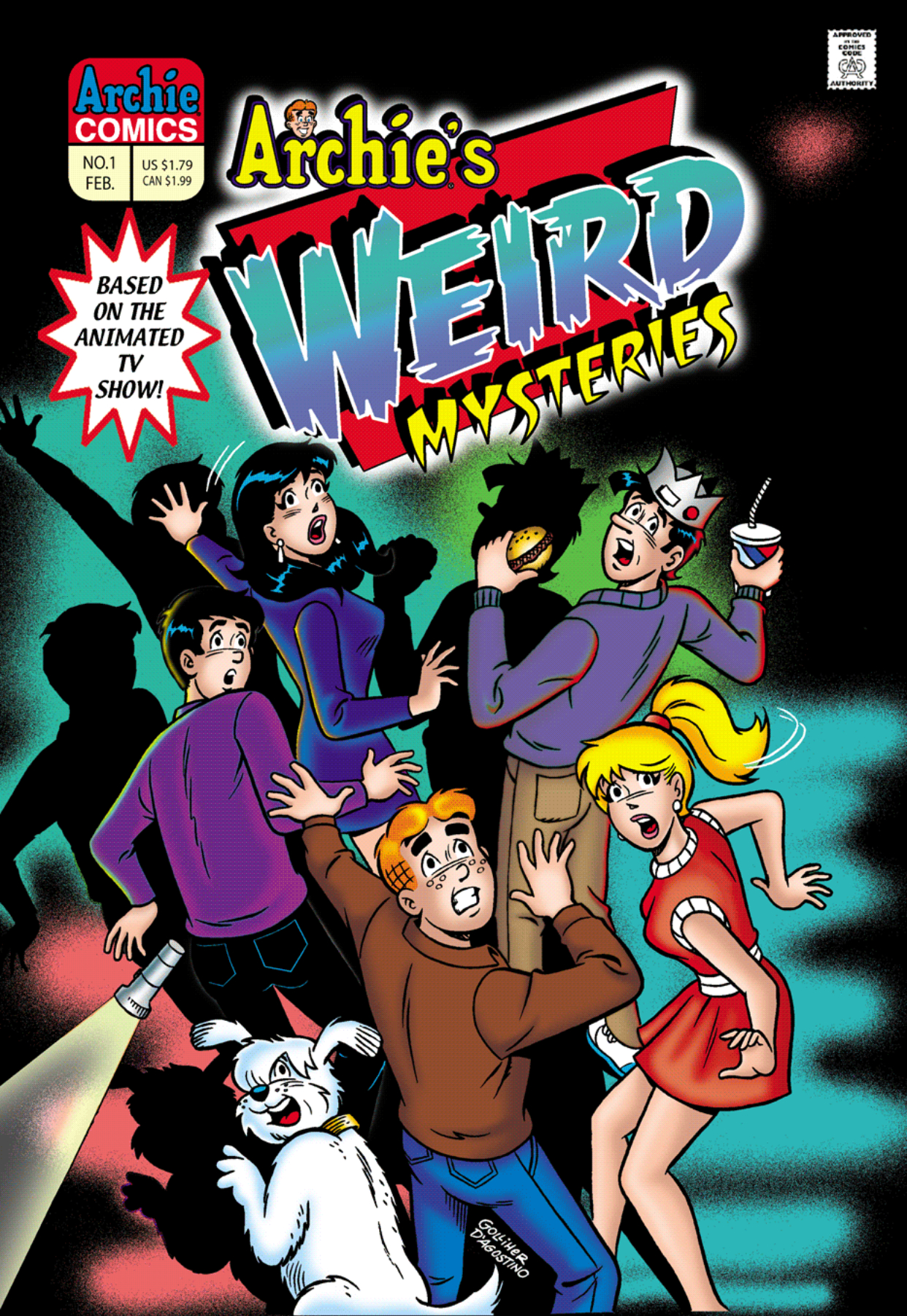 Read online Archie's Weird Mysteries comic -  Issue #1 - 1