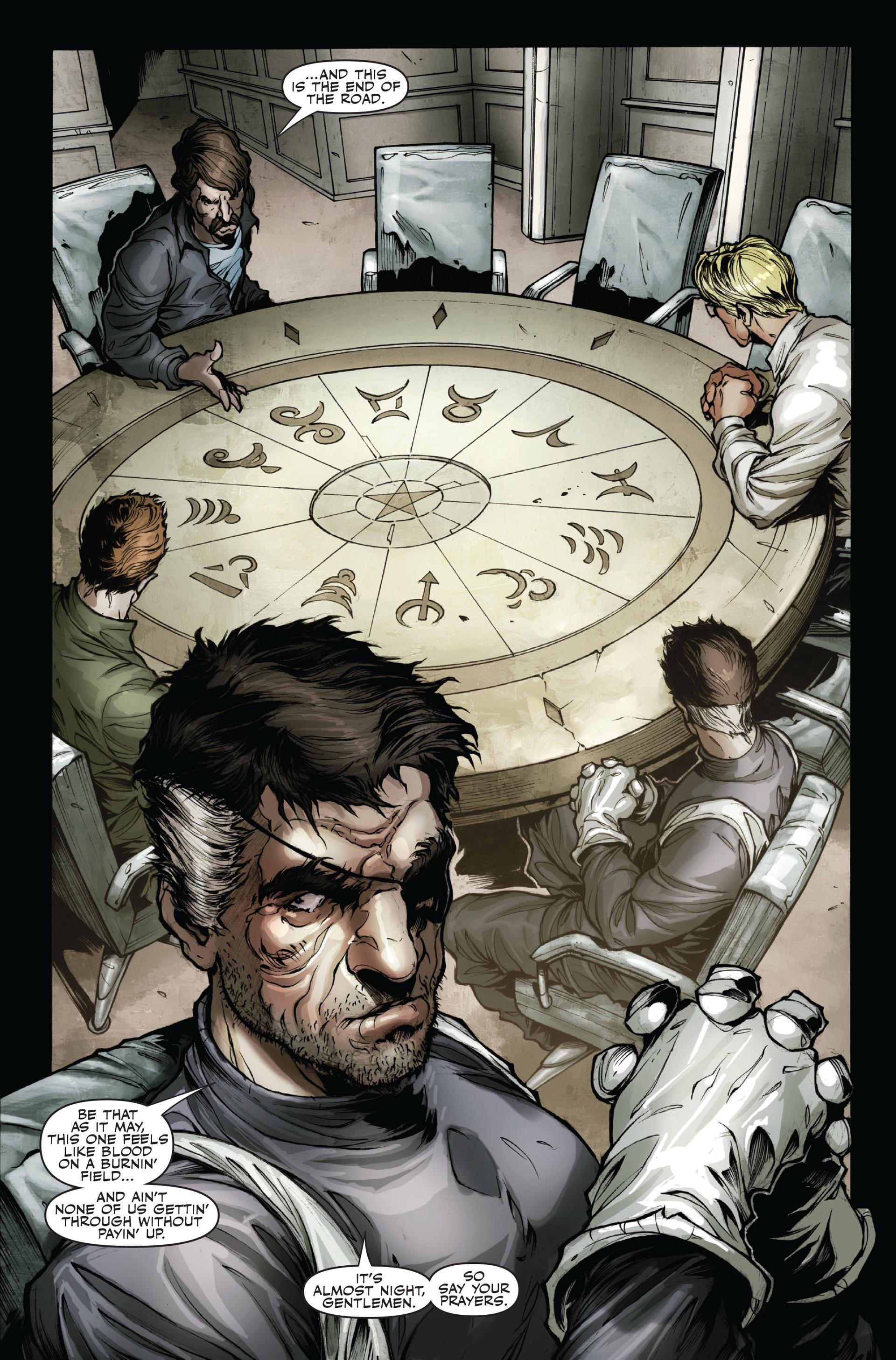 Read online Secret Warriors comic -  Issue #16 - 21
