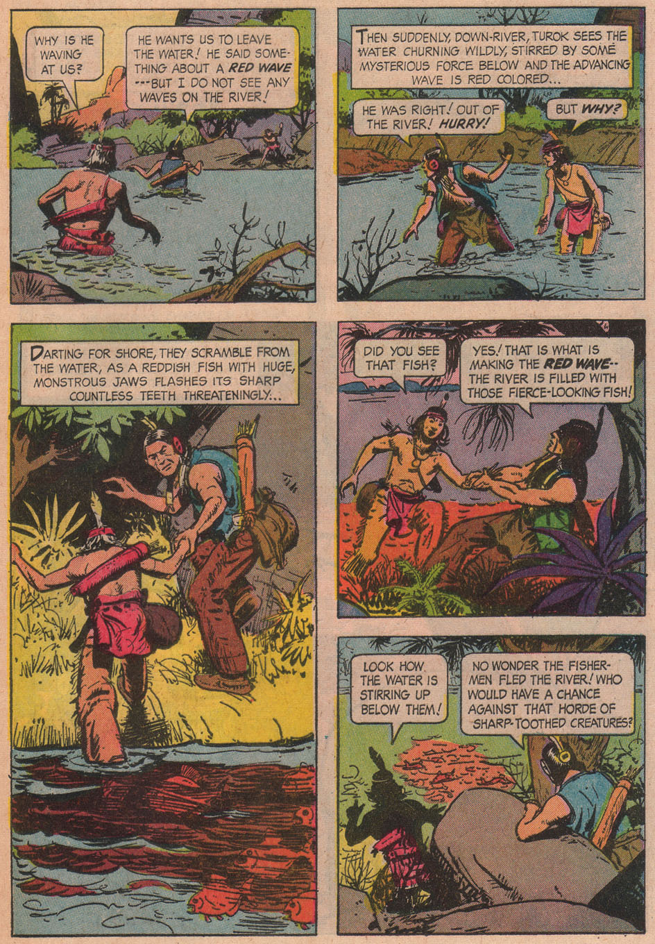 Read online Turok, Son of Stone comic -  Issue #51 - 25