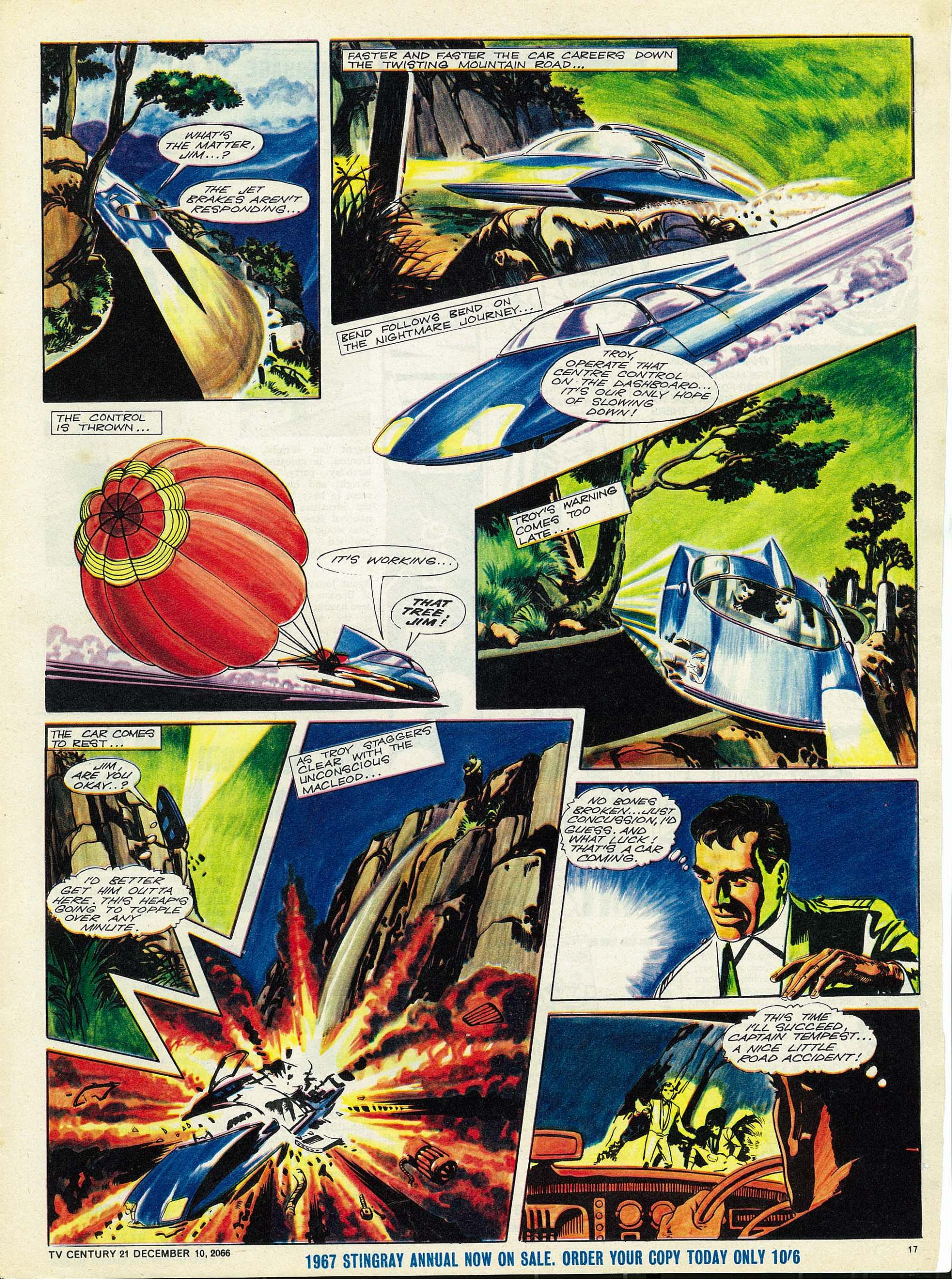 Read online TV Century 21 (TV 21) comic -  Issue #99 - 16