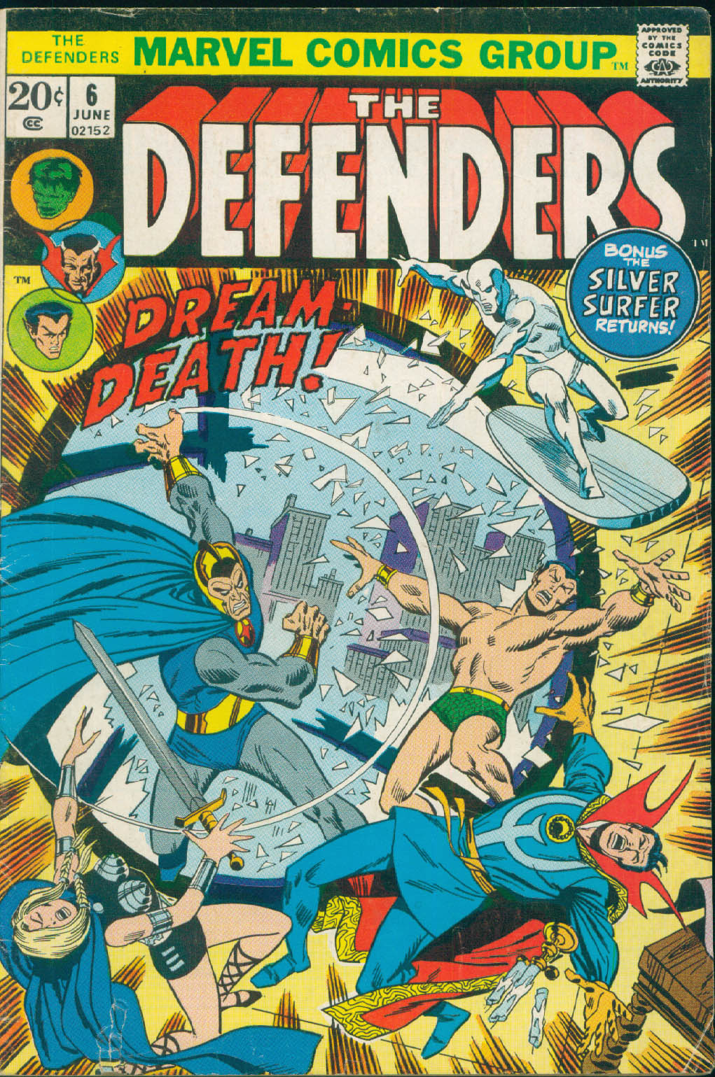 The Defenders (1972) issue 6 - Page 1