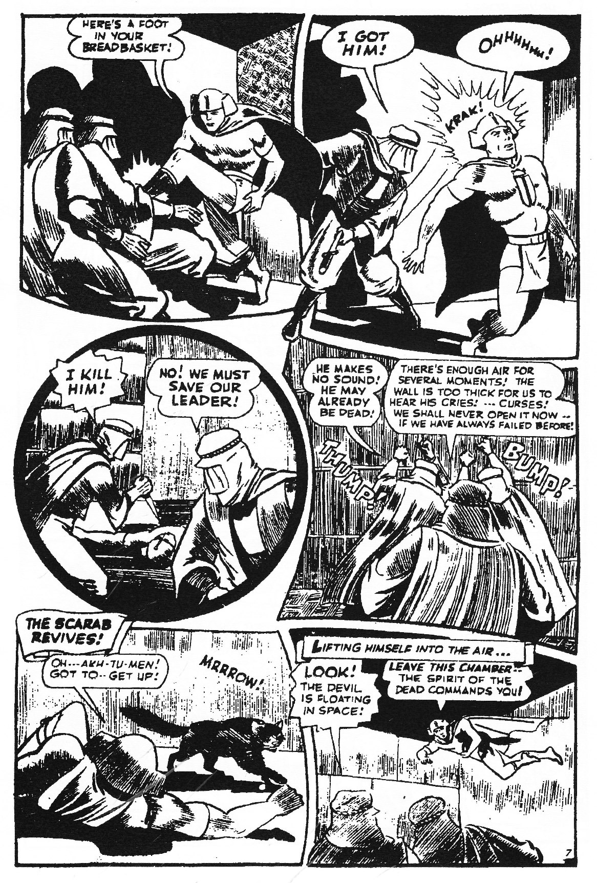 Read online Men of Mystery Comics comic -  Issue #83 - 105