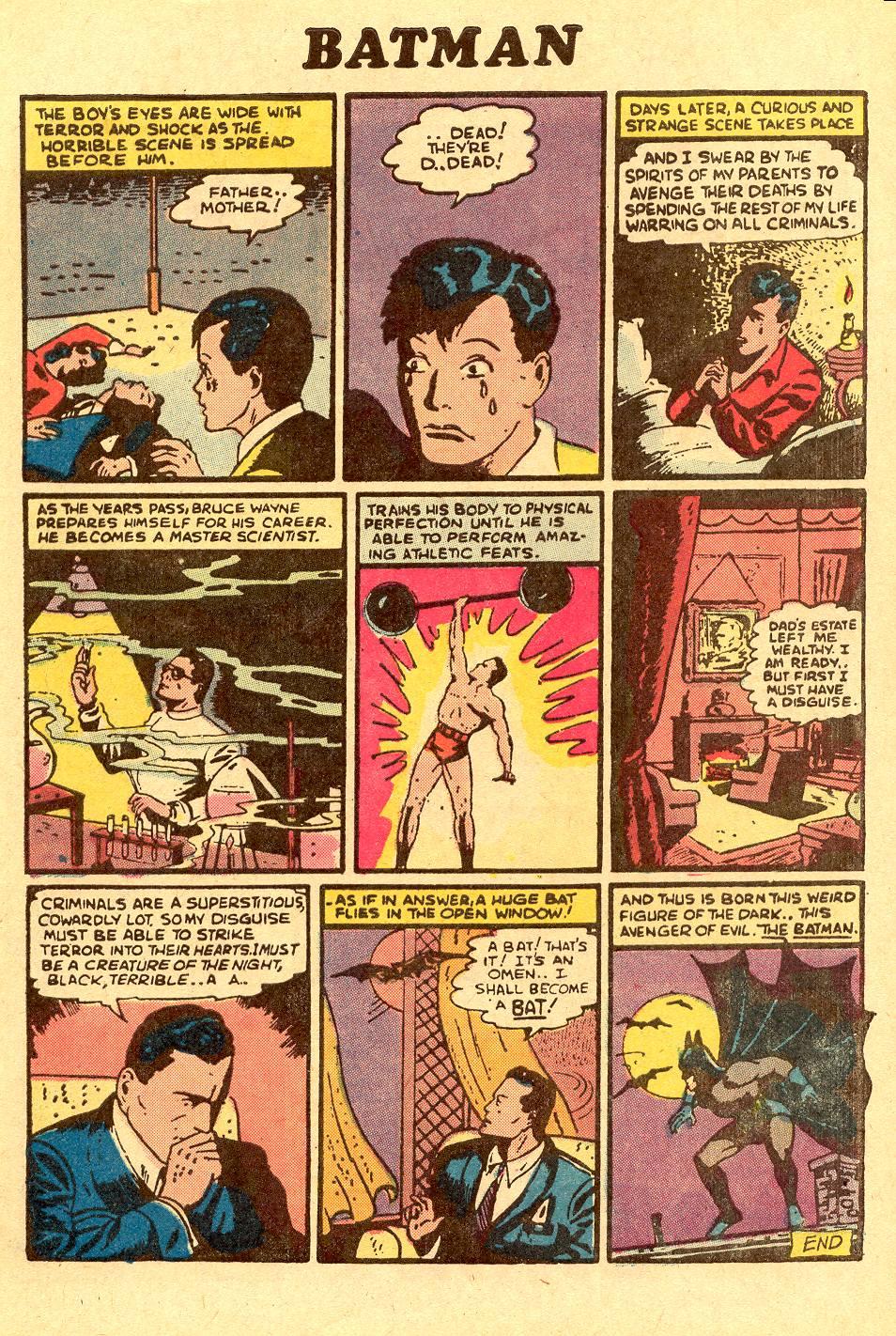 Read online Secret Origins (1973) comic -  Issue #1 - 5